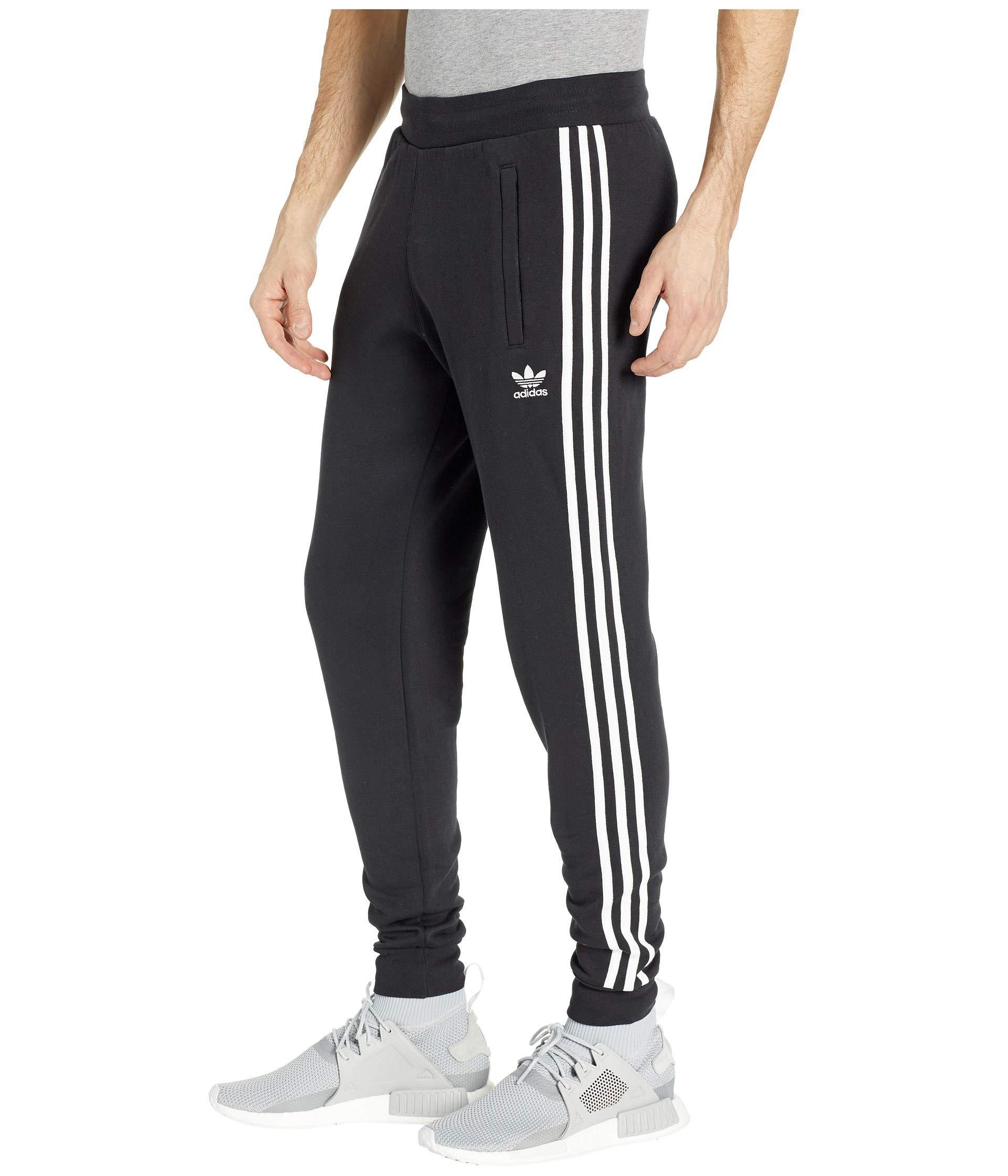 Lyst adidas Originals 3 stripes Pants (black 2) Men's