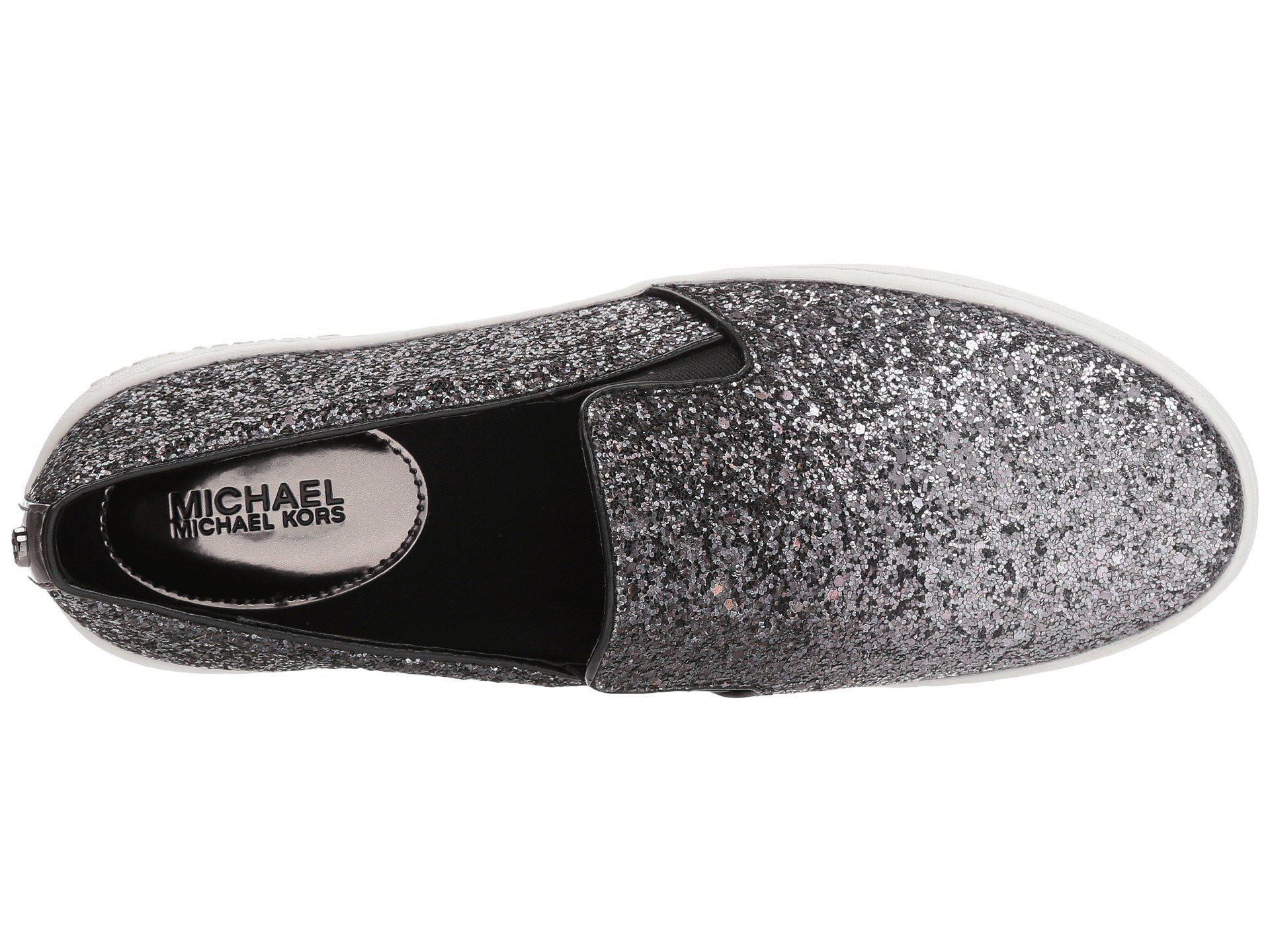 d70bdd0debf98 Lyst - MICHAEL Michael Kors Keaton Slip-on (black Mini Mk Logo ...