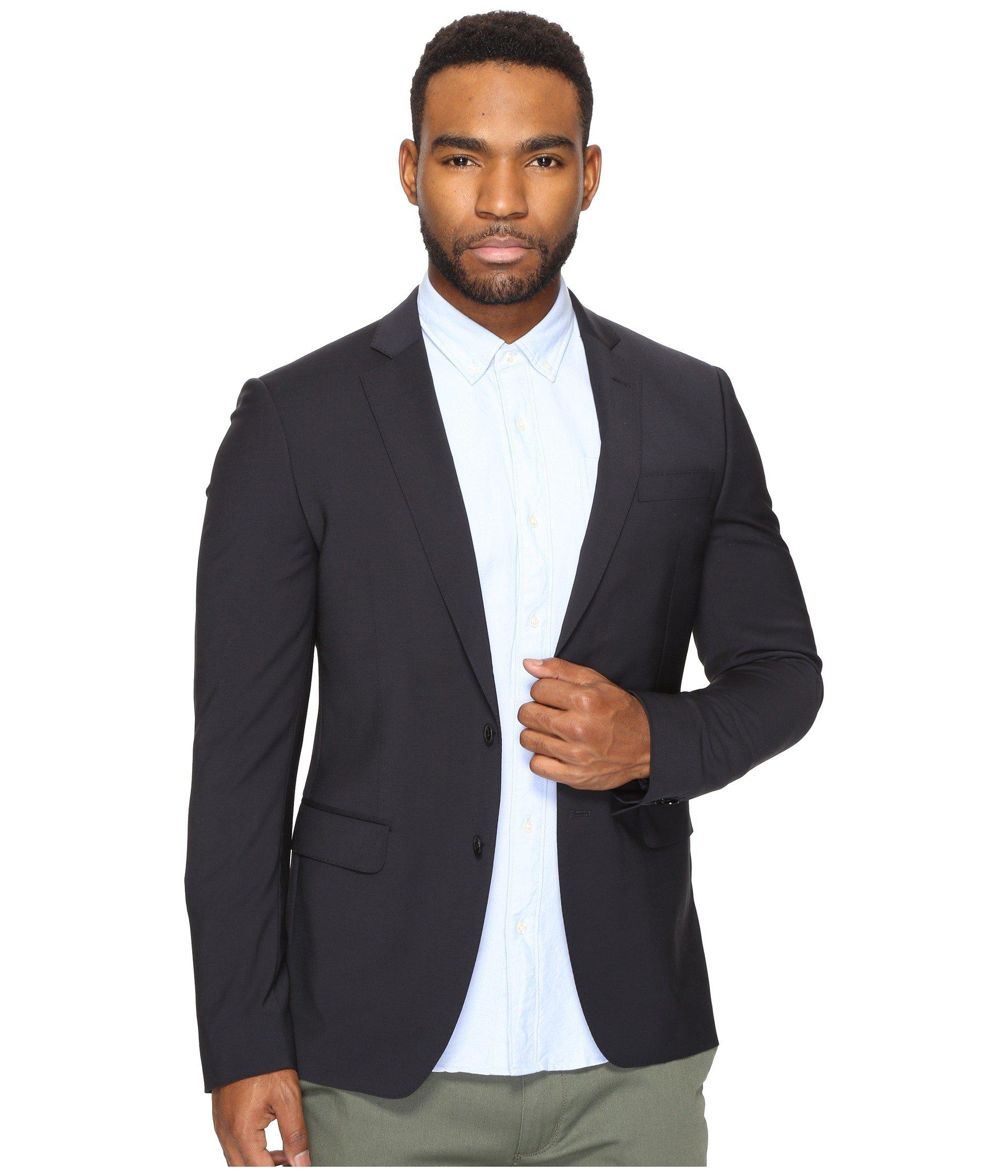 6fc885dd8c8b2 Lyst - Scotch   Soda Classic Blazer (night) Men s Jacket in Blue for ...