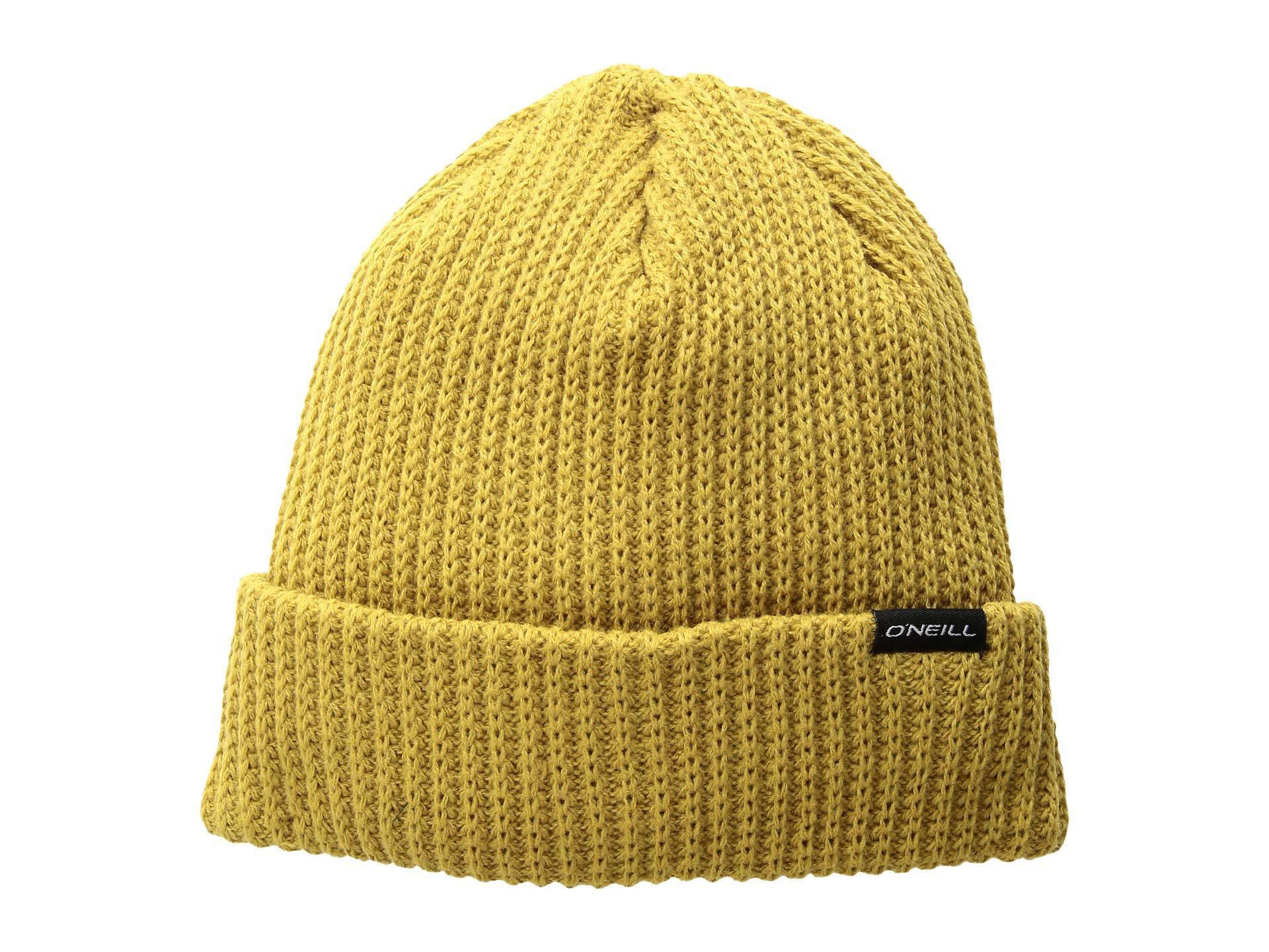 11bc204800e Lyst - O Neill Sportswear Groceries Beanie (black) Beanies in Yellow ...