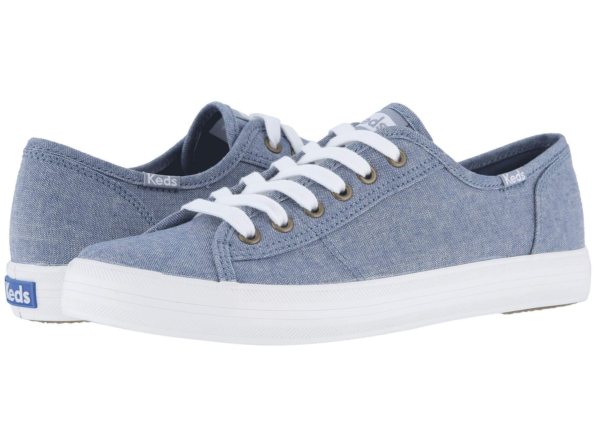 Lyst - Keds Kickstart Chambray (blue) Women s Lace Up Casual Shoes ... 05ee49835