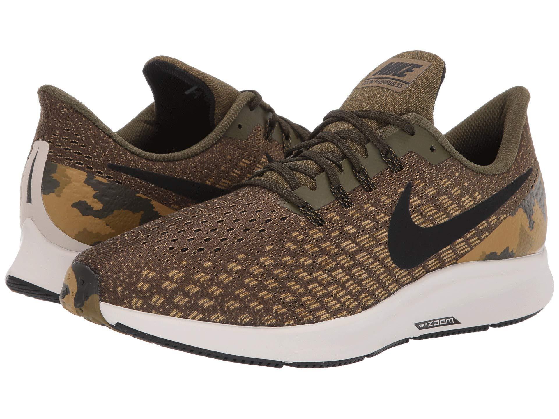 2b6b3205fd00 Nike. Air Zoom Pegasus 35 Gpx (olive Canvas black light Orewood Brown) Men s  Running Shoes