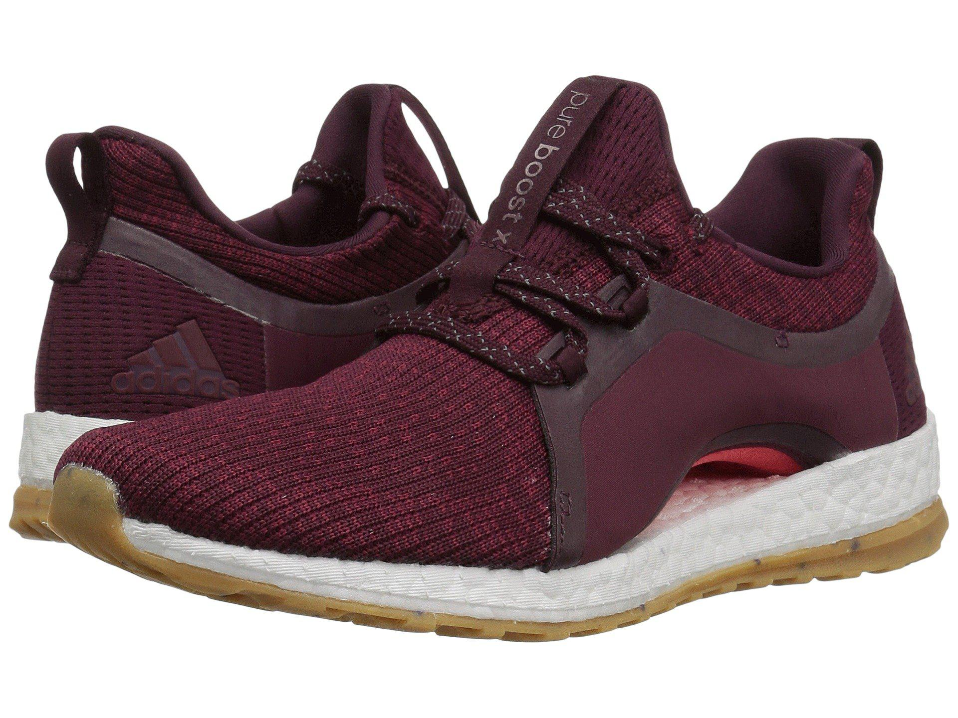 online retailer 1ef80 79d11 adidas Originals. Pureboost X Atr (red Night mystery Ruby easy Coral) Women s  Running Shoes