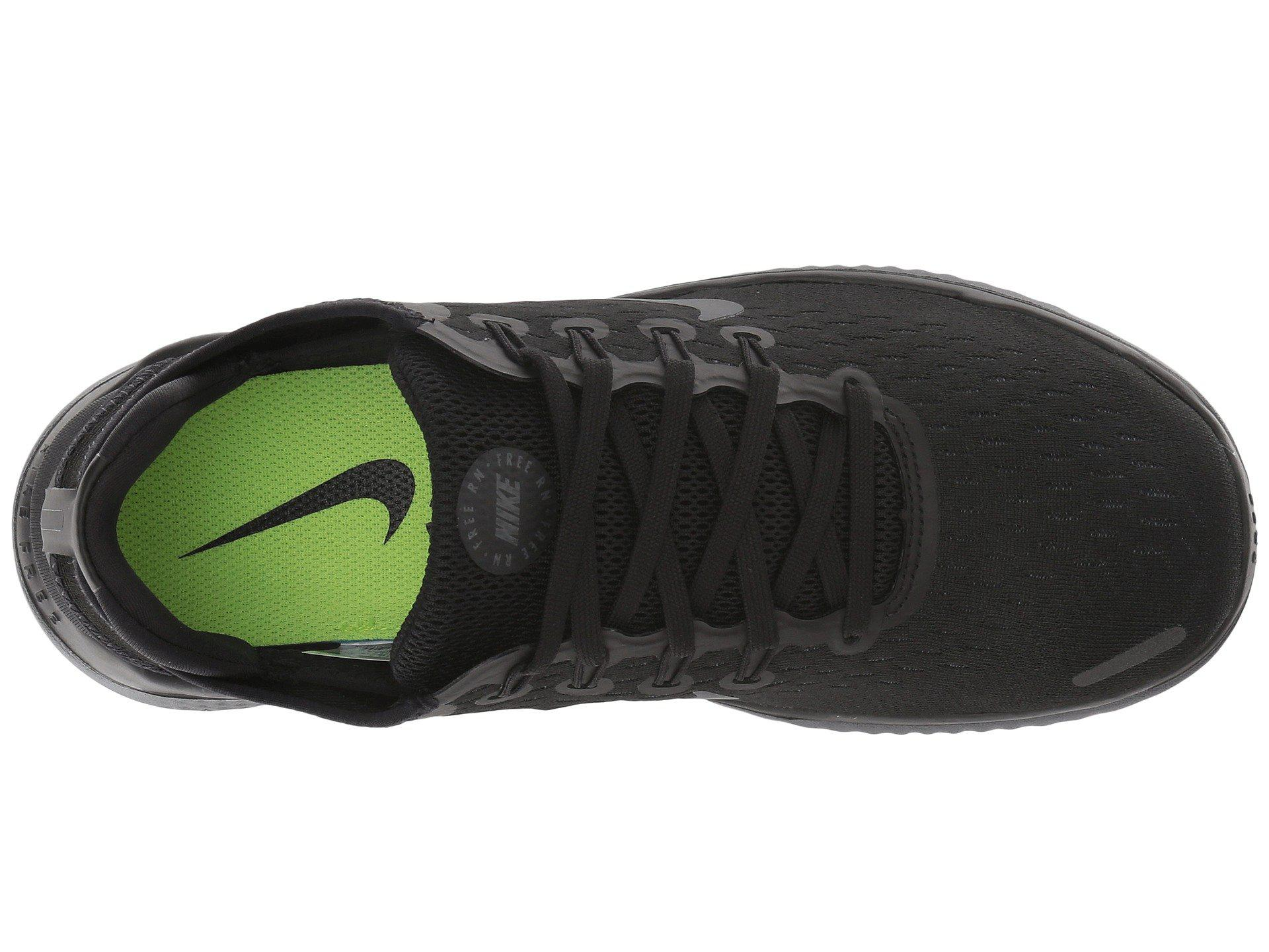 50801a71b946 Nike - Black Free Rn 2018 Women s Running Shoe - Lyst. View fullscreen