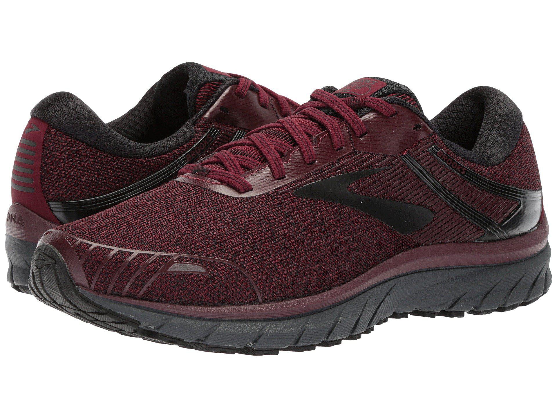 5b603320f779 Lyst - Brooks Adrenaline Gts 18 (black gold red) Men s Running Shoes ...