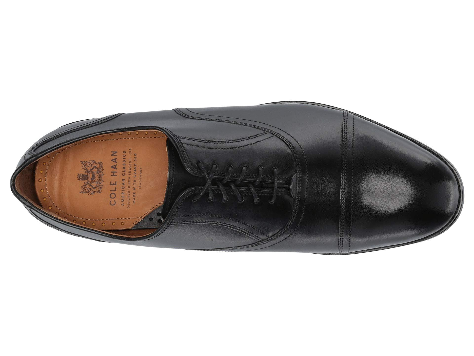 f8b680e864d64f Cole Haan - Kneeland Plain Cap Toe Oxford (black) Men's Shoes for Men -.  View fullscreen
