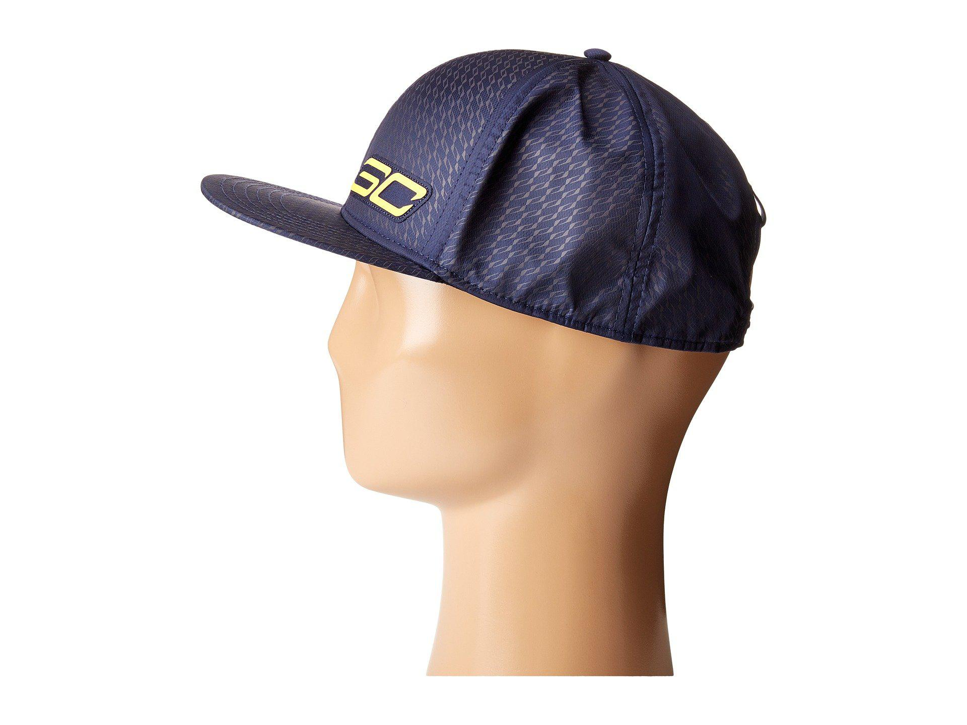 8a5dd6d47b5ab ... inexpensive lyst under armour ua sc 30 essentials snapback cap in blue  for men 9c08b 81140