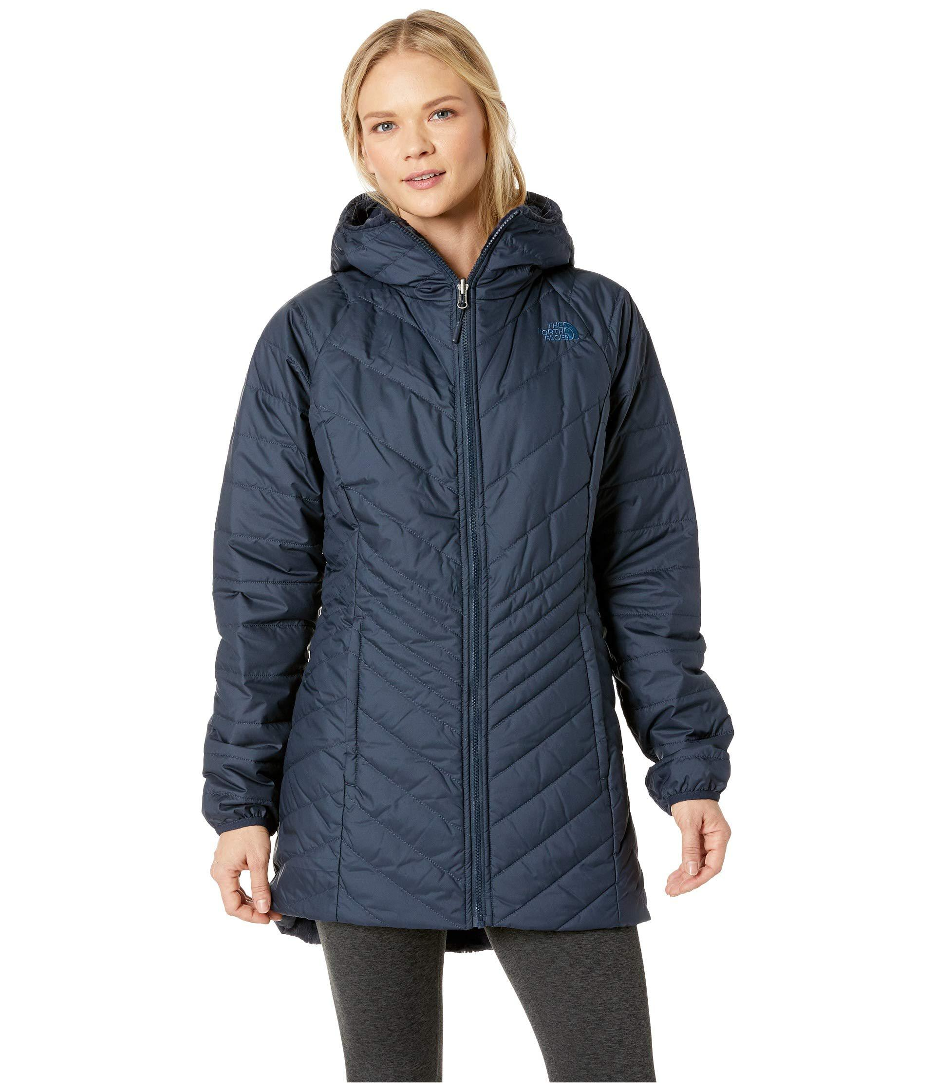 The North Face. Blue Mossbud Insulated Reversible Parka (urban Navy) Women s  Coat b1b781b2d