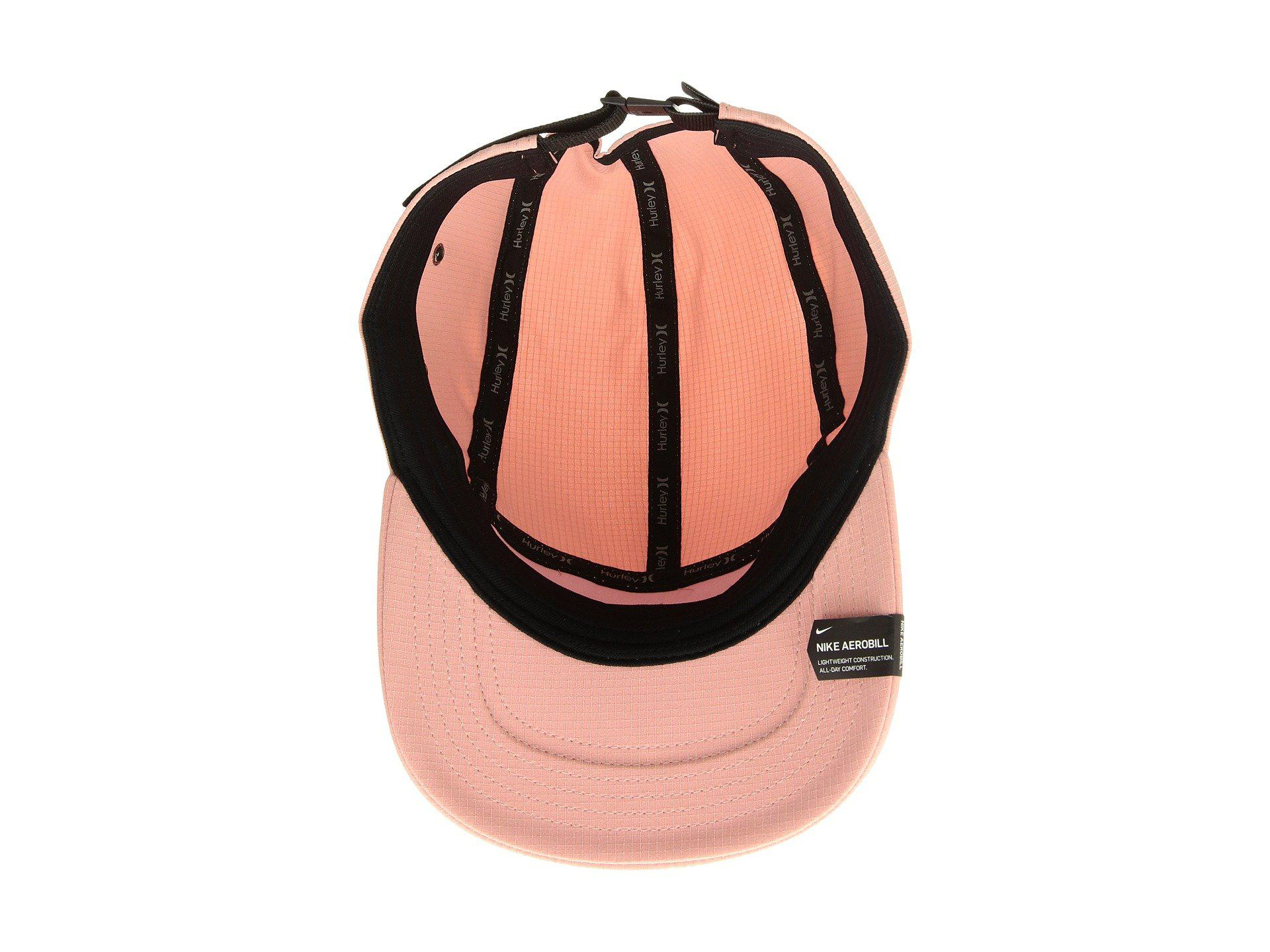 b6460b3fc74 Hurley - Pink One Only Hat (white black) Baseball Caps - Lyst. View  fullscreen