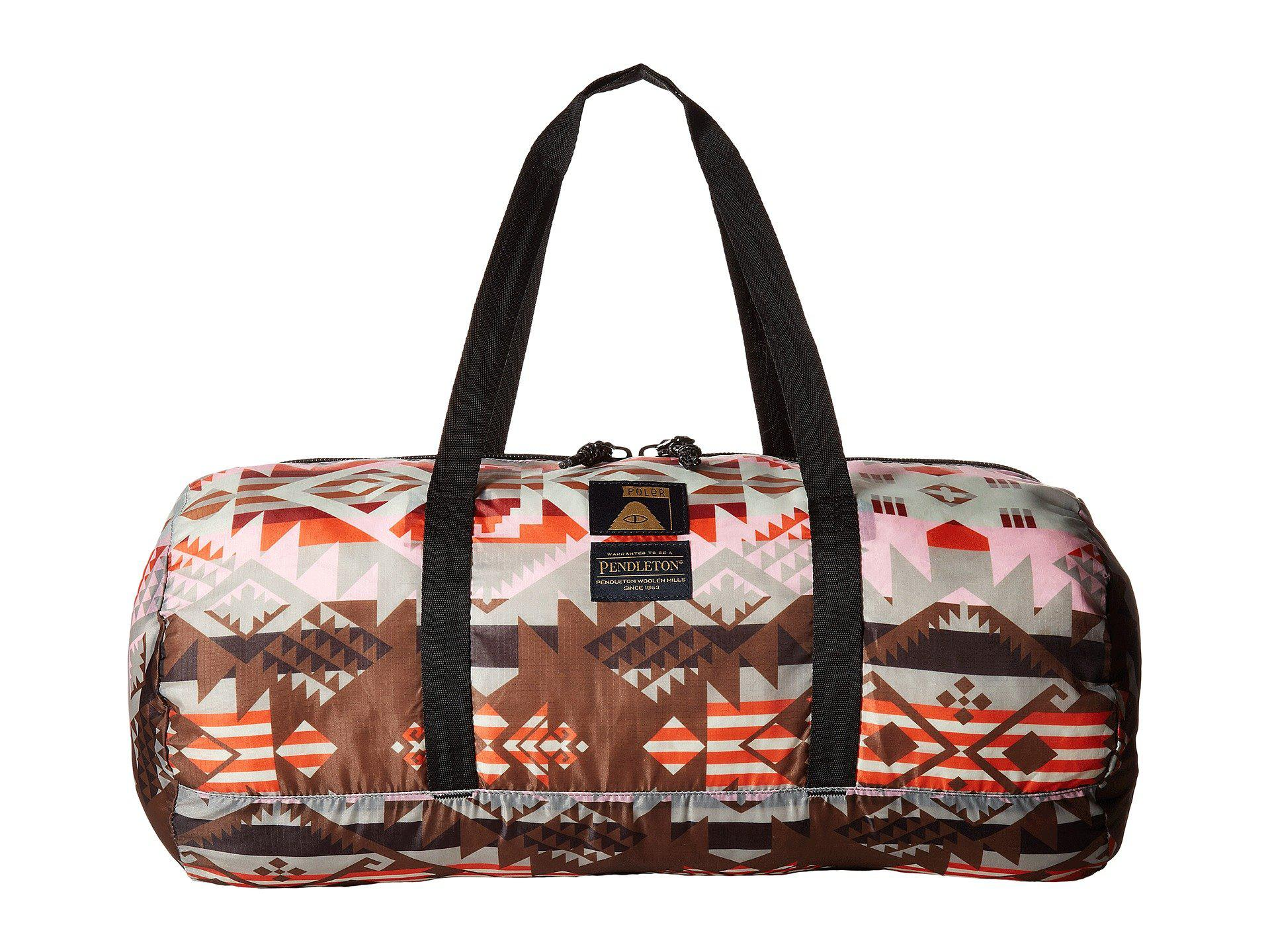 Lyst - Poler Journey West Stuffable Duffel in Pink for Men c3828ef27bcff