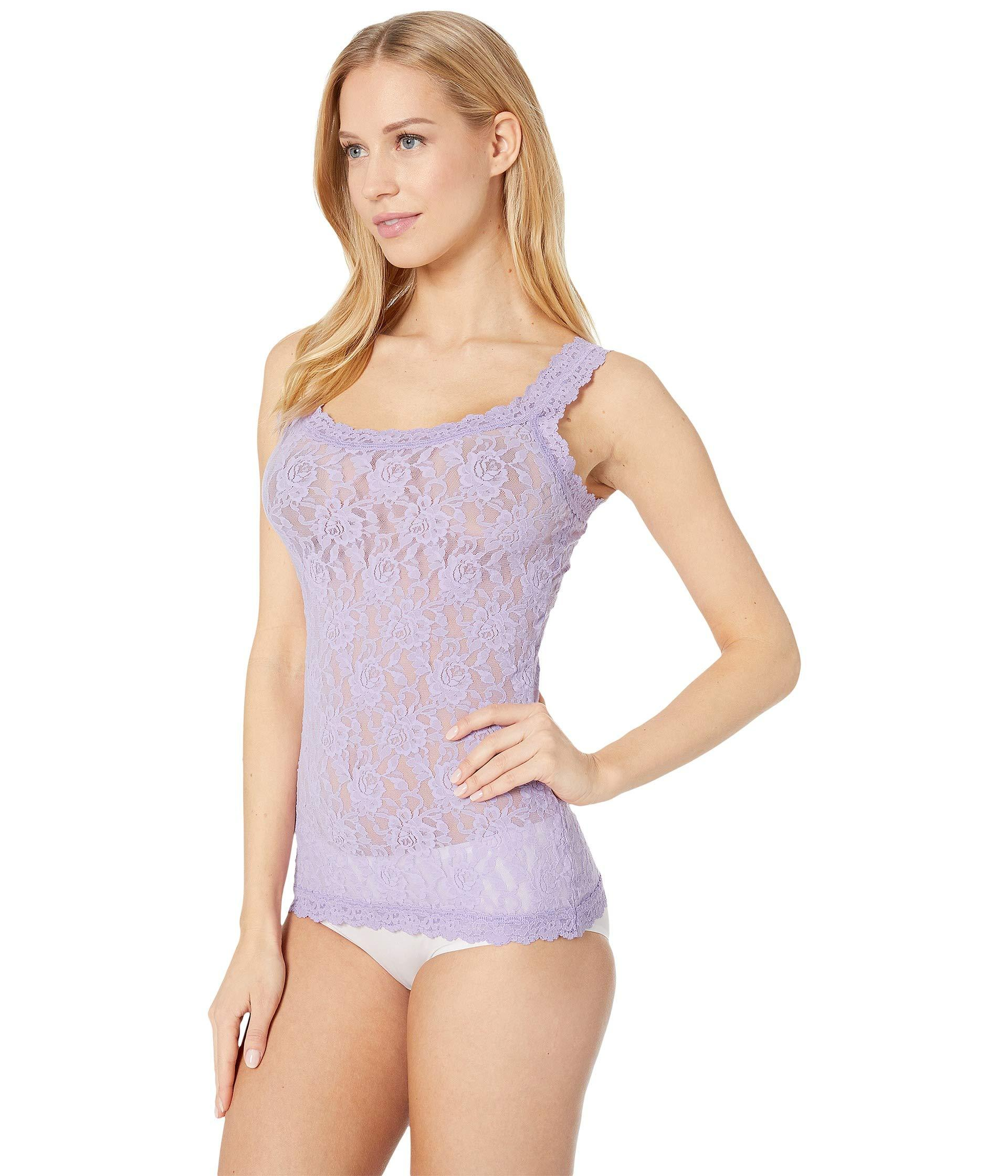 9b8d5a89f Hanky Panky Signature Lace Unlined Cami (red) Women s Lingerie in Purple -  Lyst