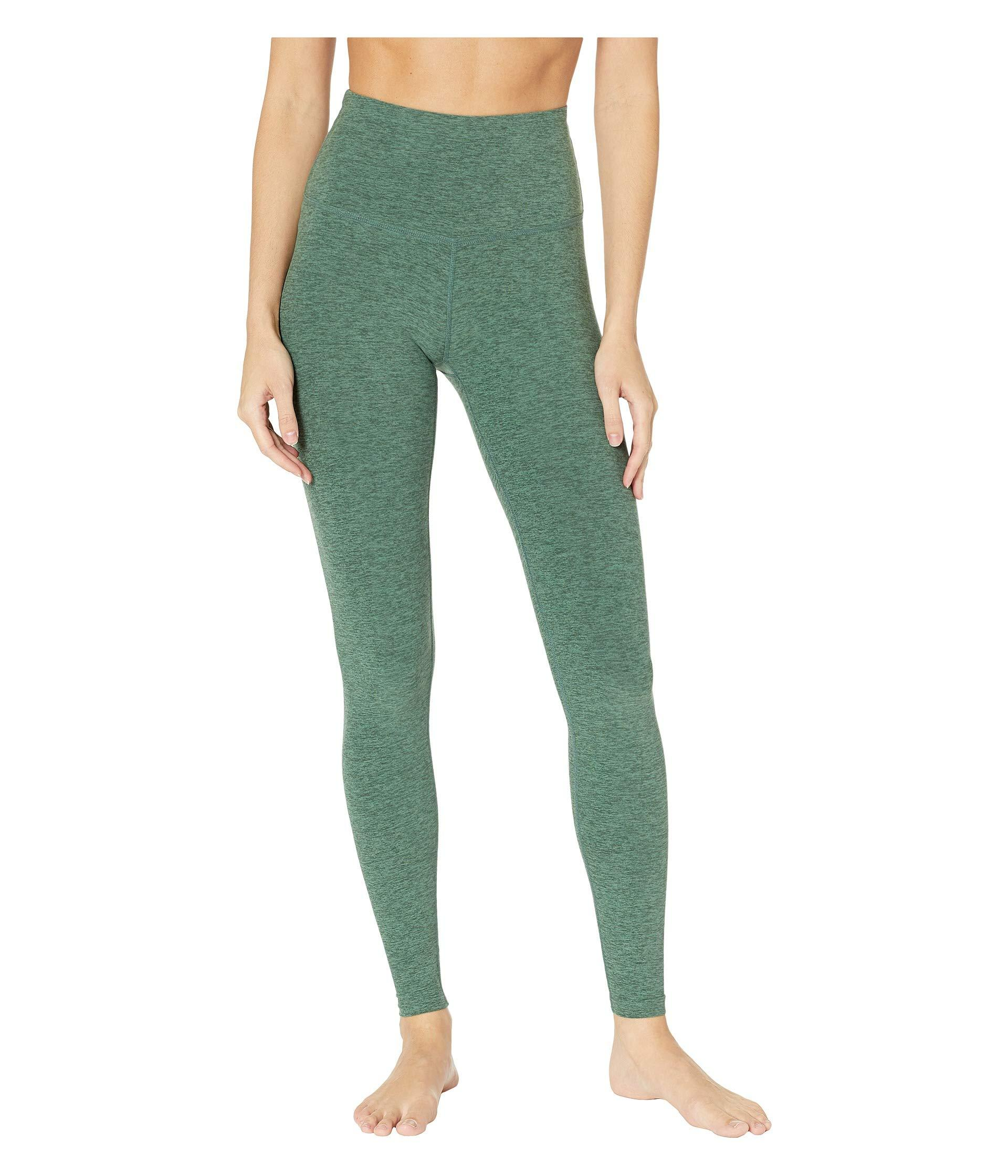 385ada63c3cbc Beyond Yoga. Green High Waist Long Legging (black/white) Women's Workout