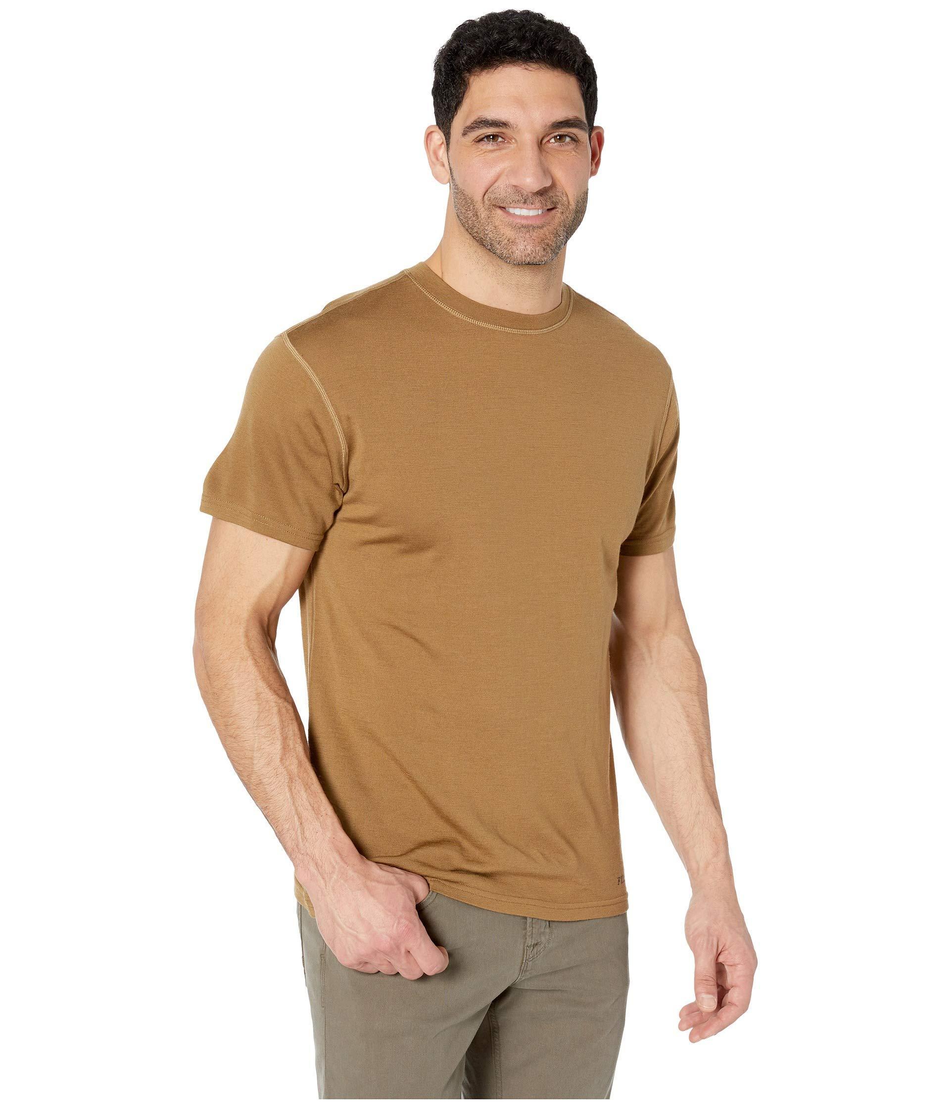 0a0da3d2 ... 210g Merino Short Sleeve Crew (Rugged Tan) Men's T Shirt for. View  fullscreen