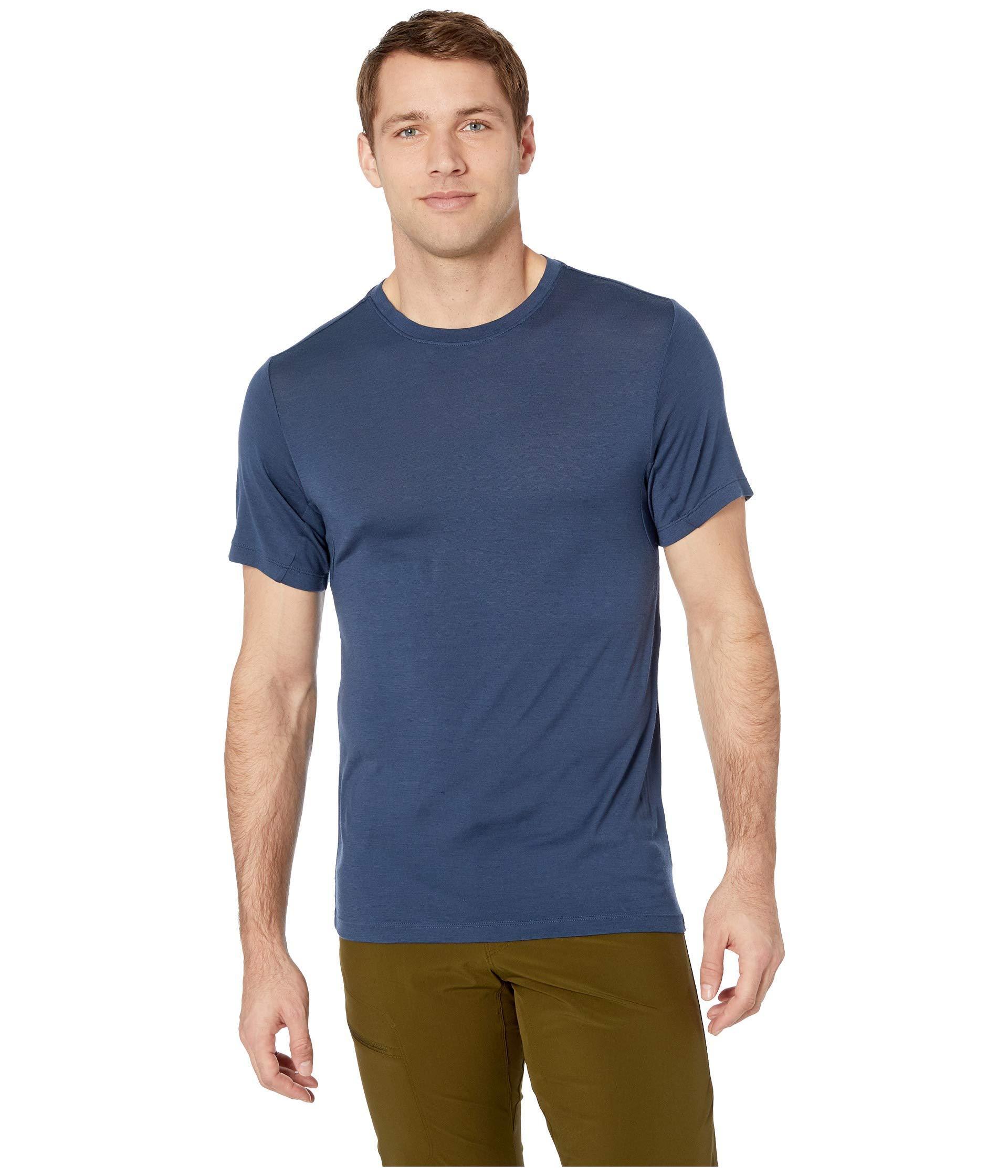 49c8c907 Mountain Hardwear. Blue Diamond Peaktm Short Sleeve Tee (light Army) Men's  Clothing