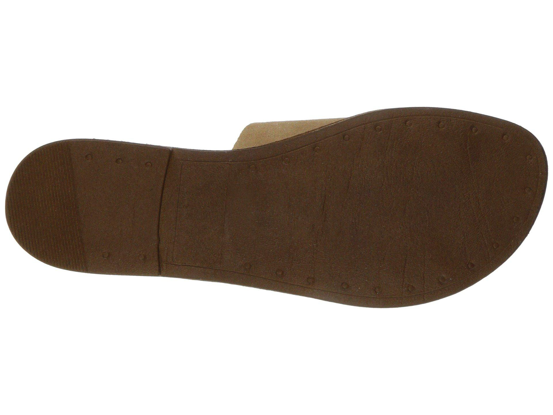 48db34231a6f Lyst - Massimo Matteo Slide 17 (grey Suede) Women s Slide Shoes in Brown