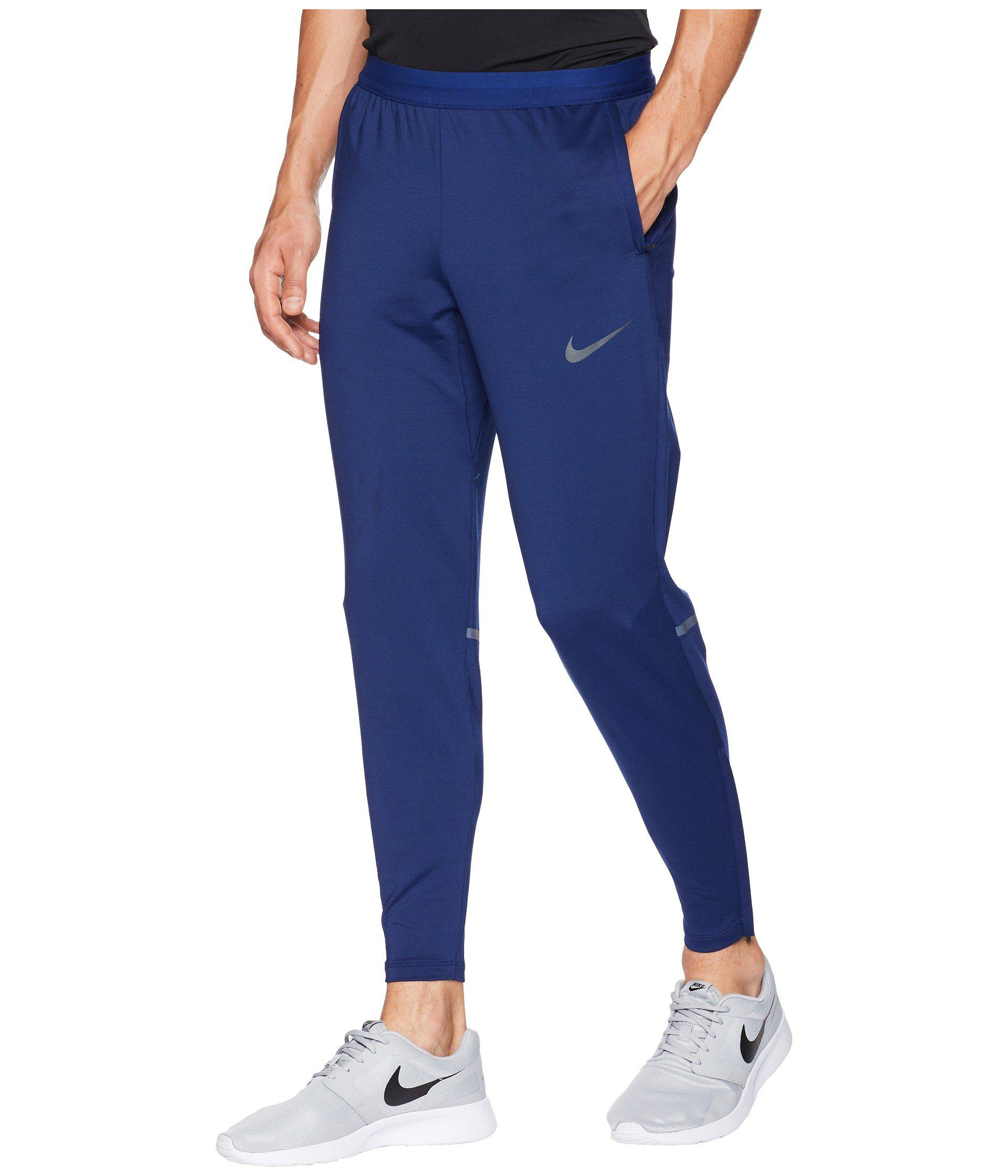 a9a0c83d5c2 Lyst - Nike Phenom Pants (black) Men s Casual Pants in Blue for Men