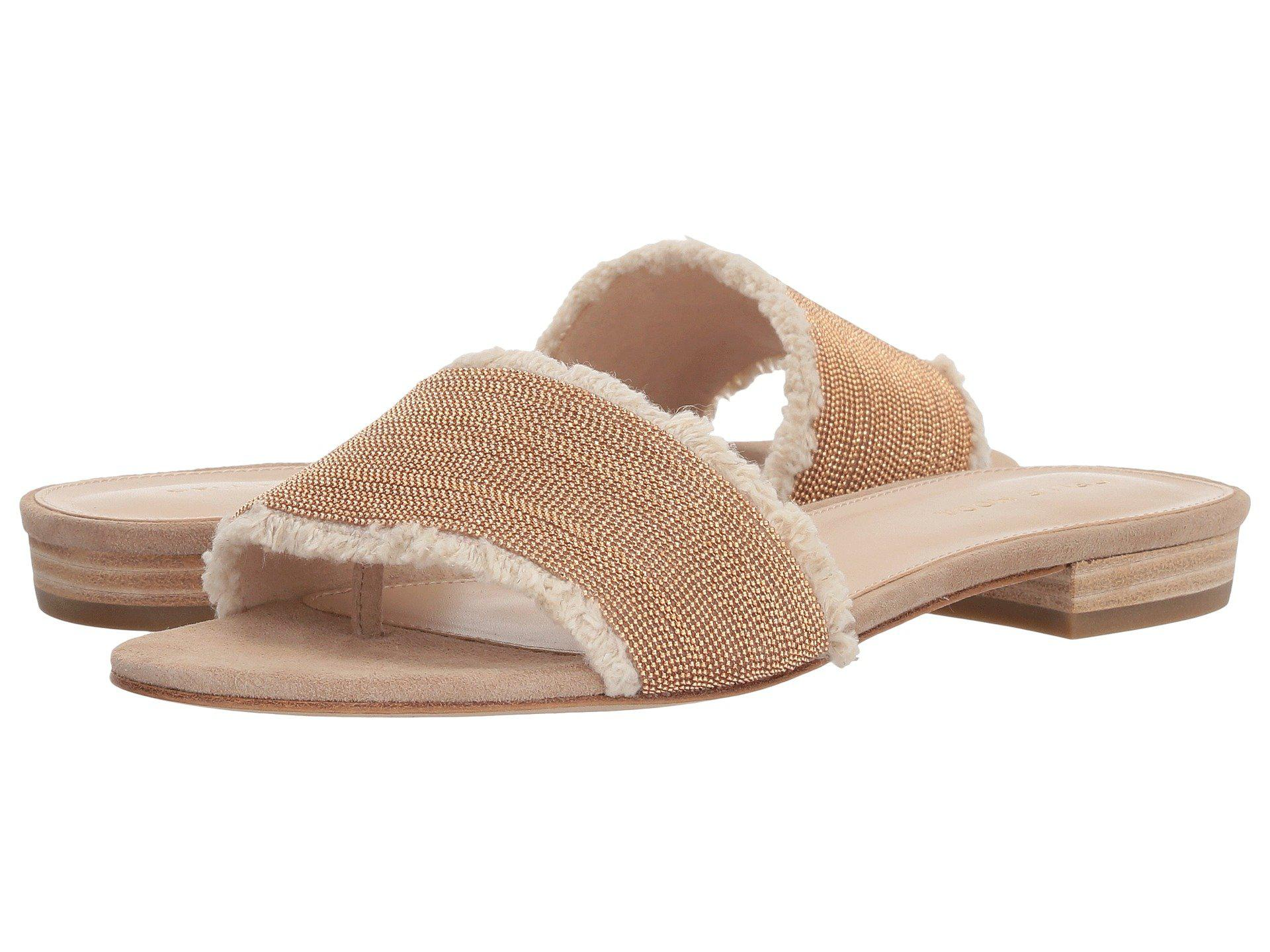 Bayer Linen Slide Sandals tPLHc4RZn