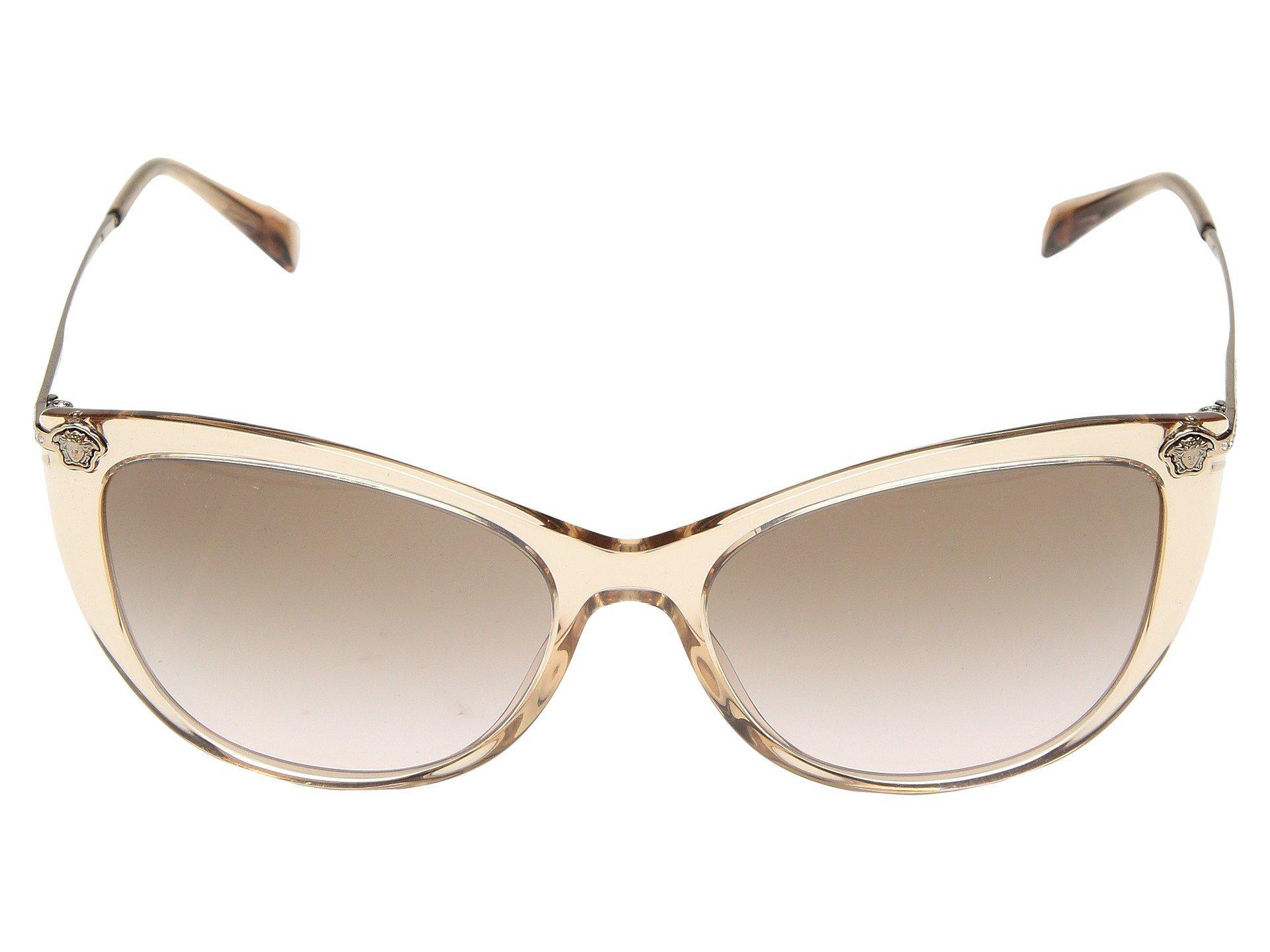 0d184bc16b Versace - Ve4345b (havana gradient Brown Mirror) Fashion Sunglasses - Lyst.  View fullscreen