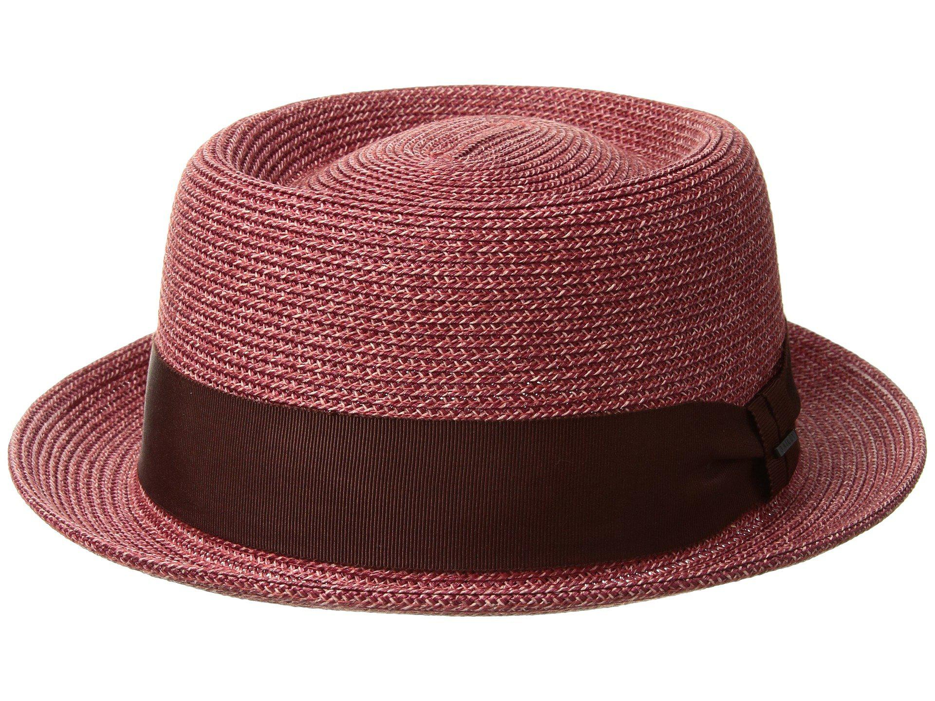 Lyst - Bailey of Hollywood Waits (chili Pepper) Caps in Red for Men 577728884b51
