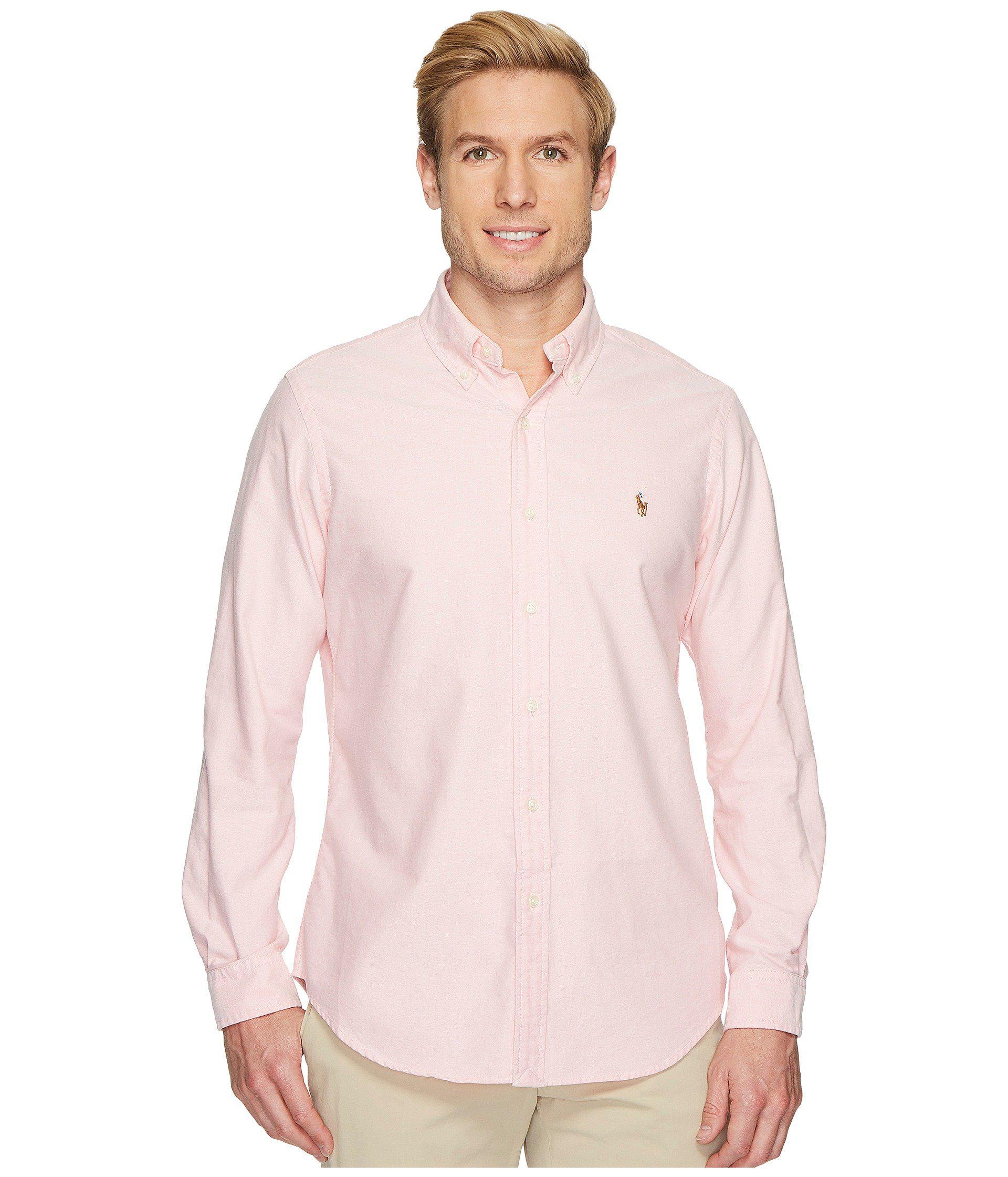 Lyst Polo Ralph Lauren Standard Fit Oxford Sport Shirt White