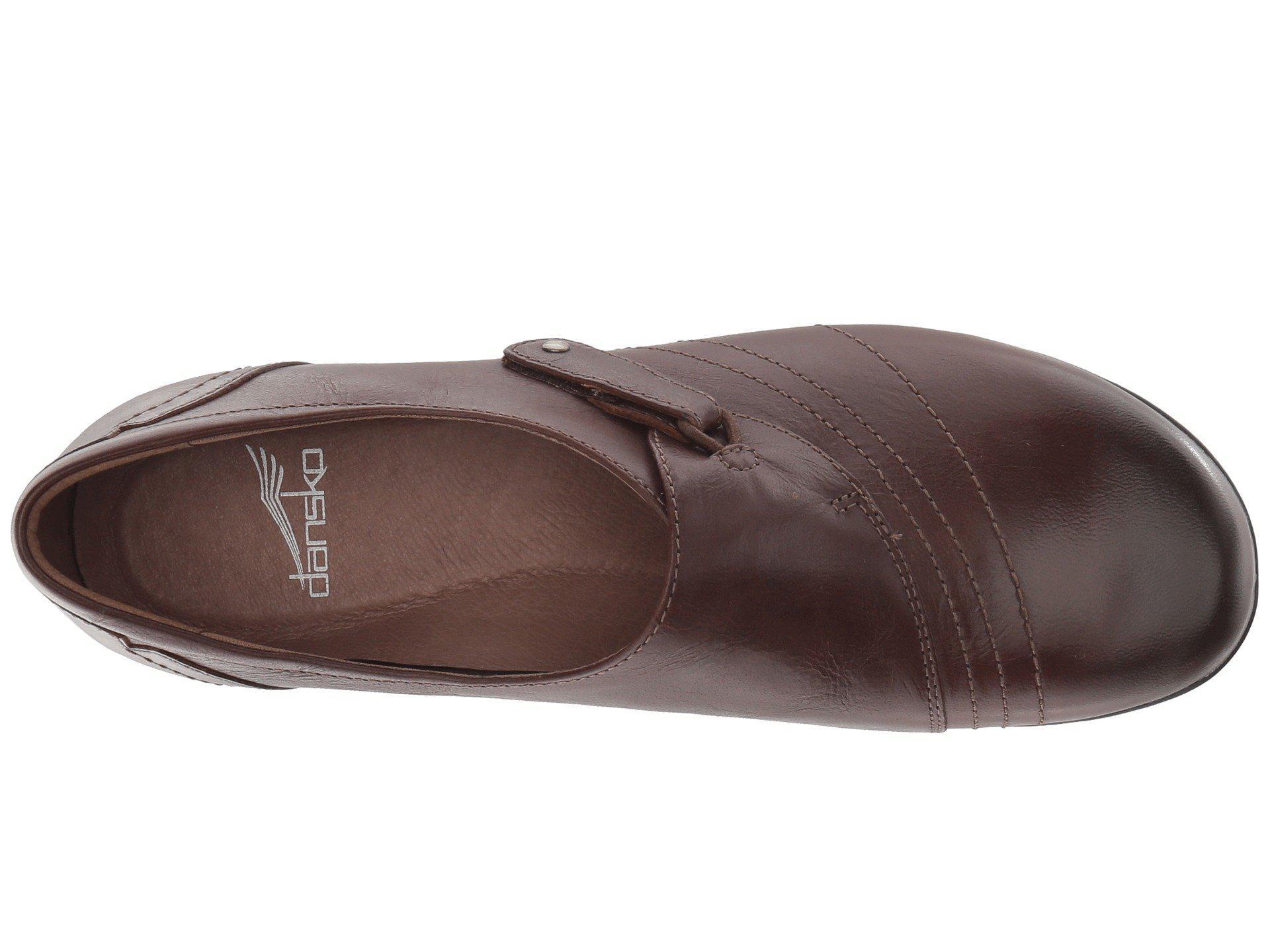 90b1077eee2 Dansko - Brown Franny (chocolate Burnished Calf) Women s Shoes - Lyst. View  fullscreen