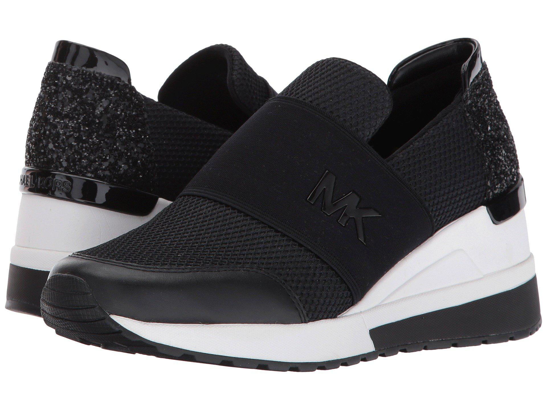 ee92a2236 MICHAEL Michael Kors Felix Trainer in Black - Save 40% - Lyst