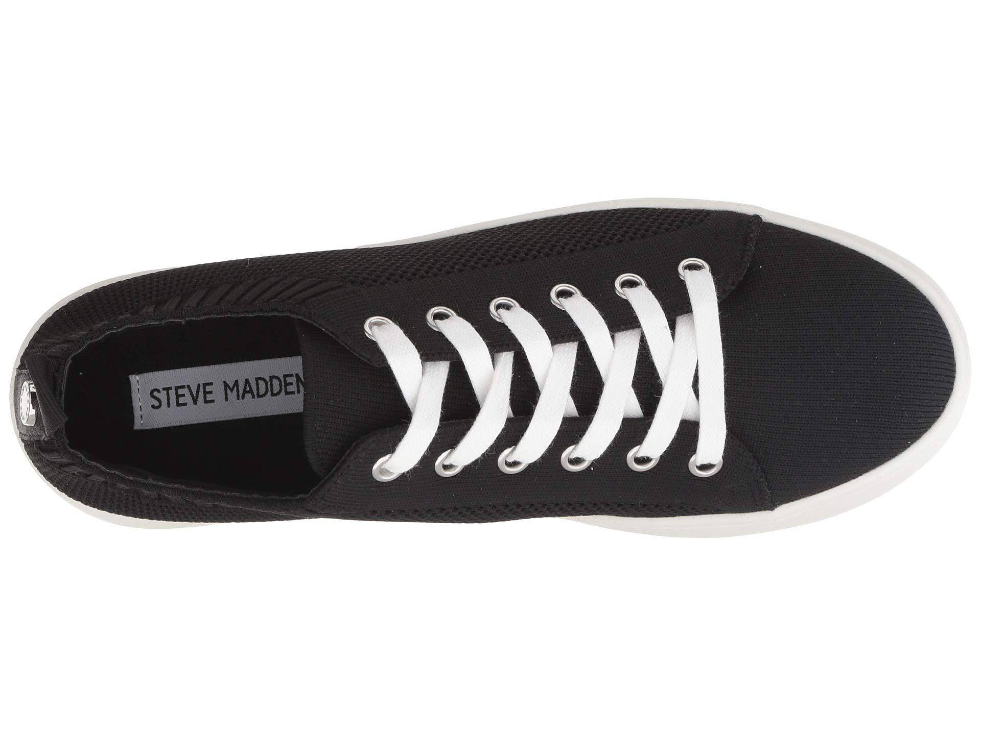 a8dd1d29a31 Steve Madden - Black Bardo Sneaker (blush) Women s Lace Up Casual Shoes -  Lyst. View fullscreen