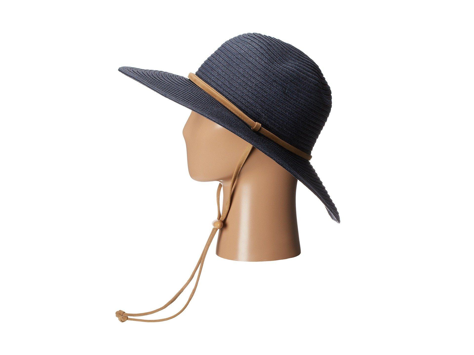 f7253e73 Lyst - San Diego Hat Company Pbl3016 Large Brim Chin Cord Paper ...