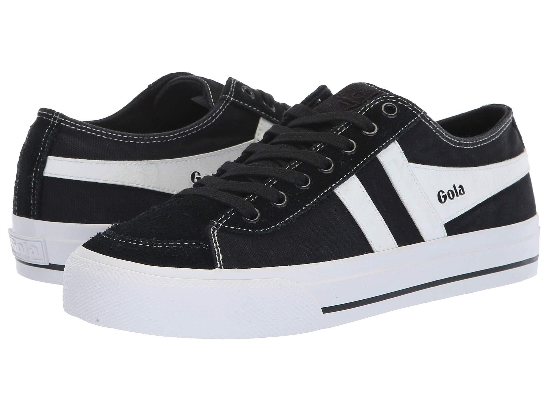 a30e030eef7bd Lyst - Gola Quota Ii (navy/white) Women's Shoes in Black - Save 1%