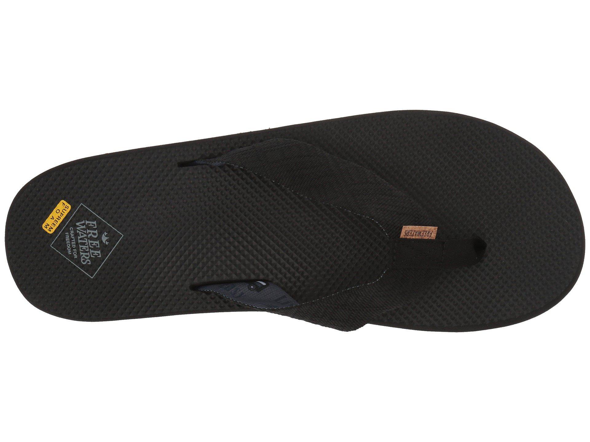 3e9071f5b14 Freewaters - Black Supreem Dude (brown) Men s Shoes for Men - Lyst. View  fullscreen