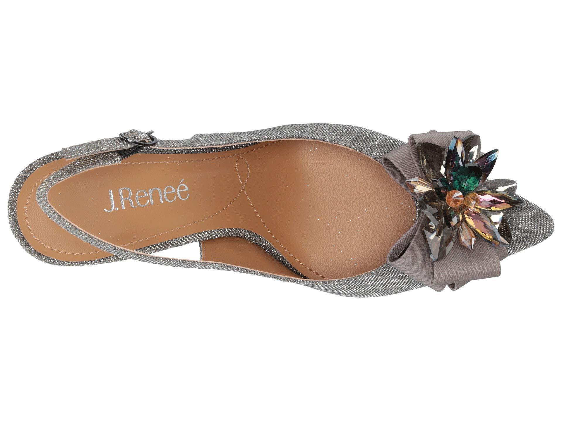 f9a07438c44 J. Reneé - Multicolor Denyell (black Glitter) High Heels - Lyst. View  fullscreen