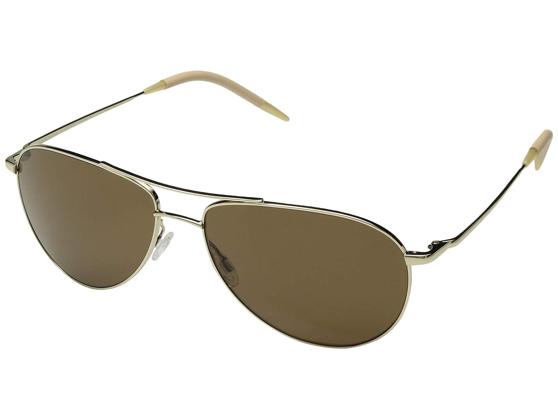 c85fe748cf2 Lyst - Oliver Peoples Benedict (gold brown Lens) Fashion Sunglasses ...