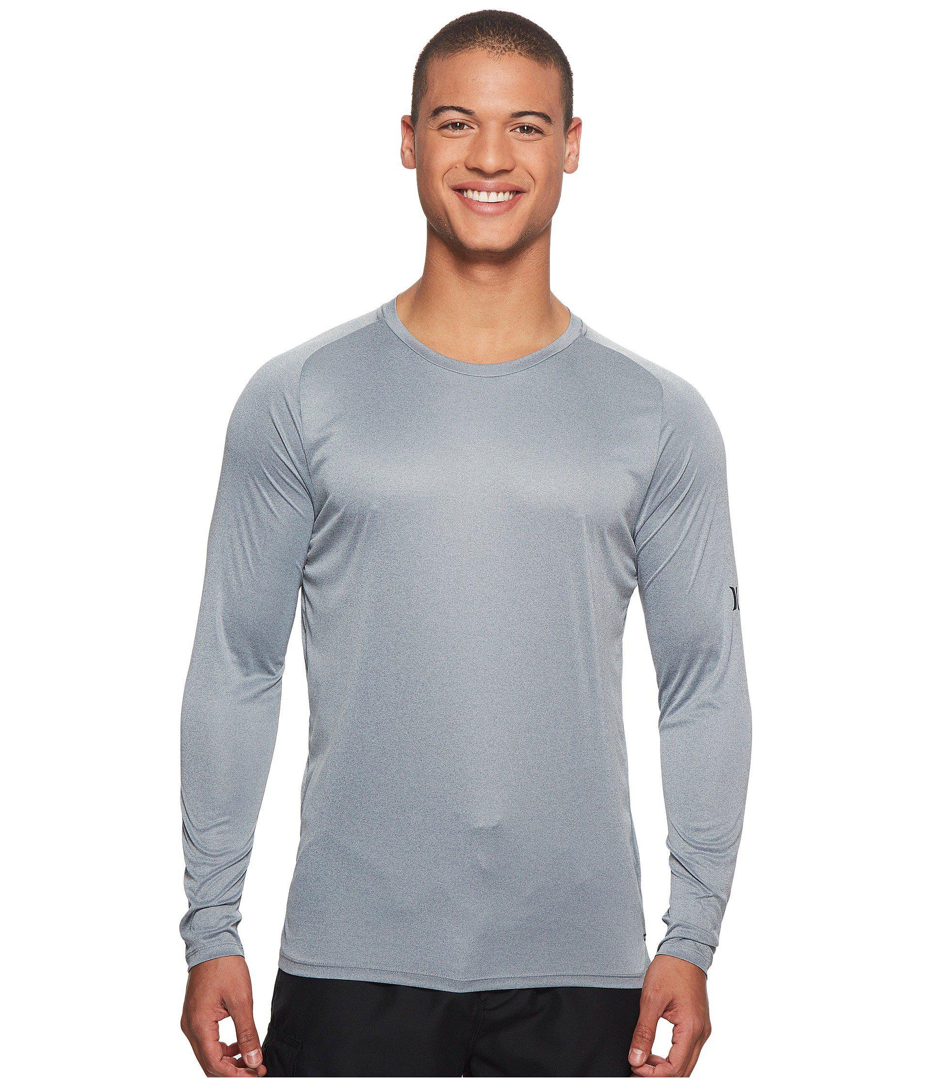 d5cc5a867c Mens Long Sleeve Sun Protection Swim Shirts