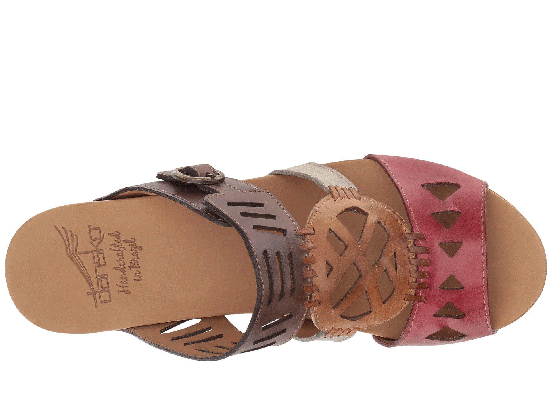 f34e421255dc Dansko - Multicolor Oralee (multi Waxy Full Grain) Women s Clog mule Shoes  -. View fullscreen