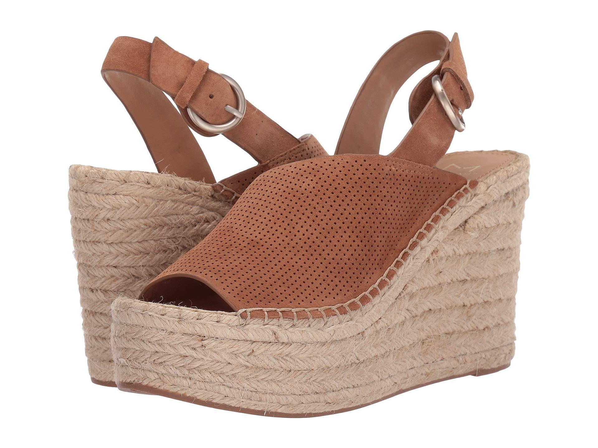 2947affeef5 Lyst - Marc Fisher Andela (dark Blue Nubuck) Women s Shoes in Brown