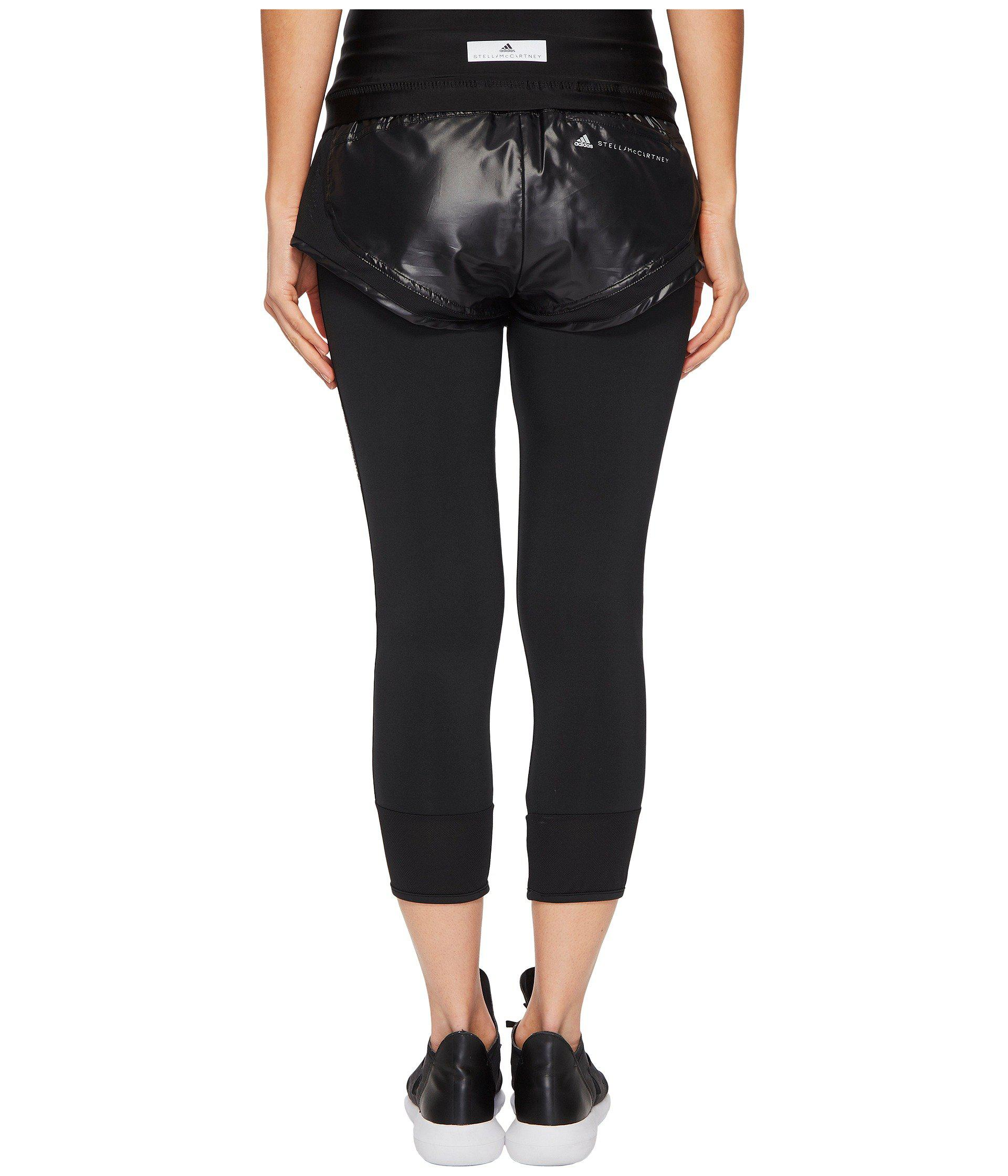 146f17ee0aaa Adidas By Stella McCartney - Performance Essentials Shorts Over Tights  Cg0899 (black) Women s Casual. View fullscreen