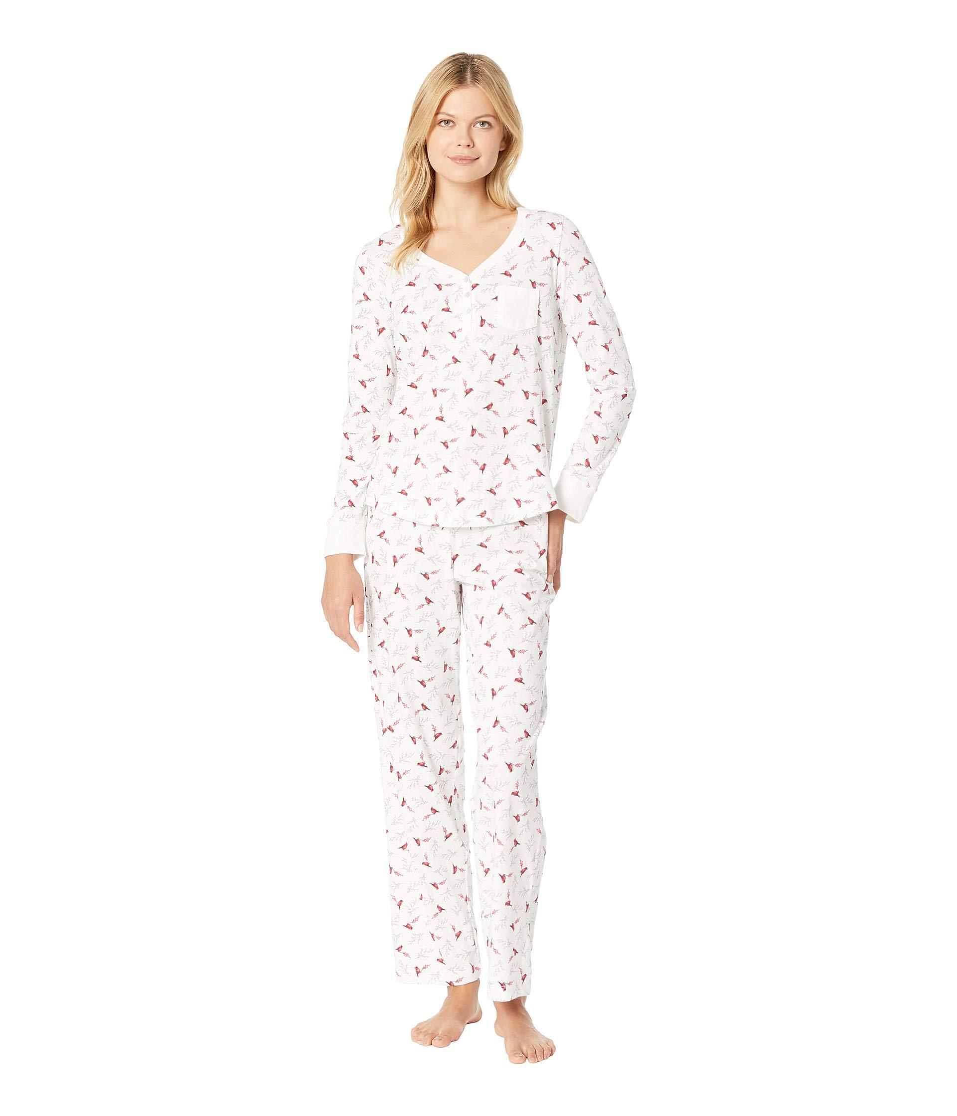 ef58beb109 Lyst - Carole Hochman Soft Jersey Long Pajama Set (lilac Vine Floral ...