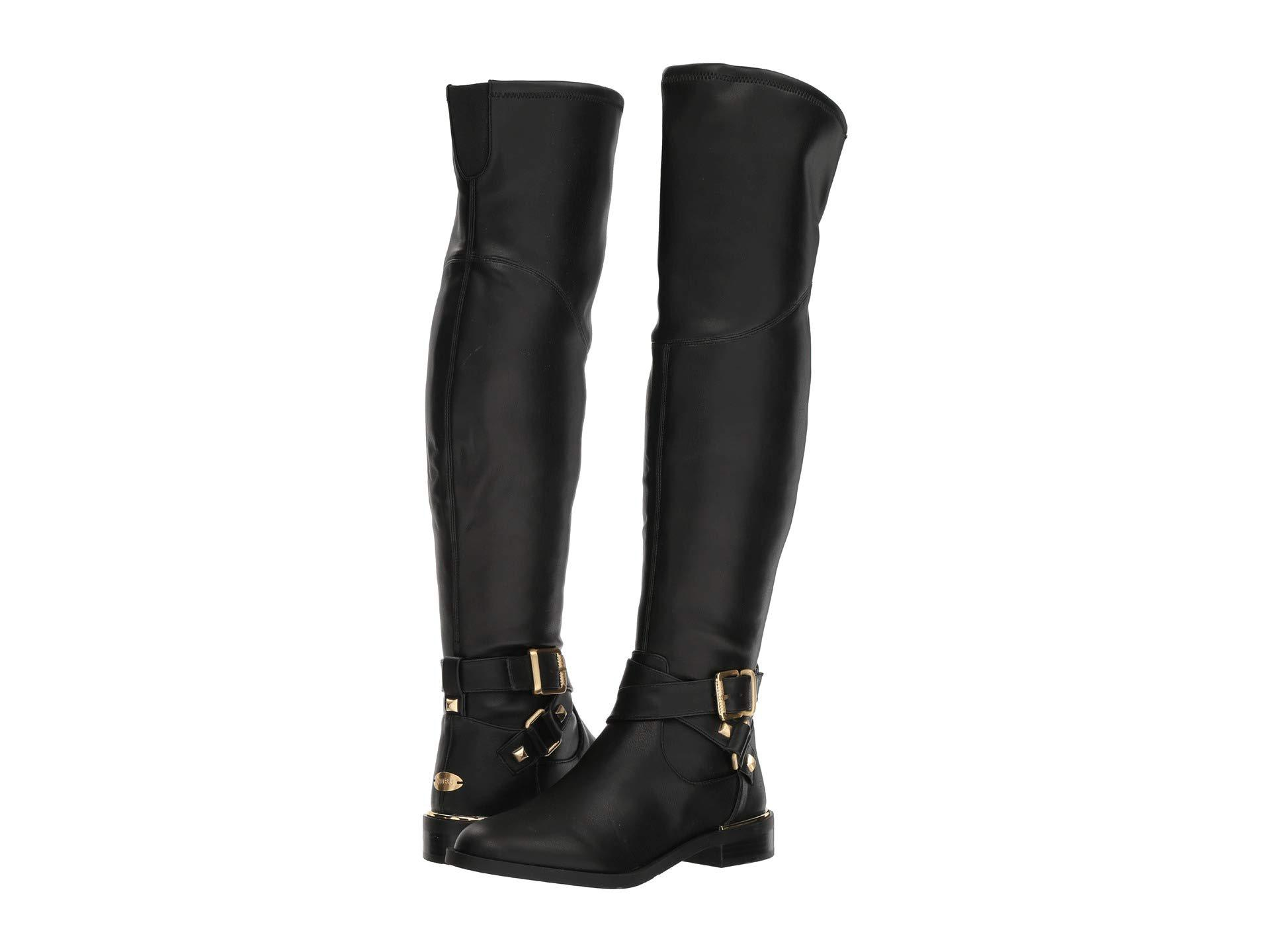 Lyst - Guess Dalary (black Synthetic) Women s Boots in Black 2baea0f5f7830
