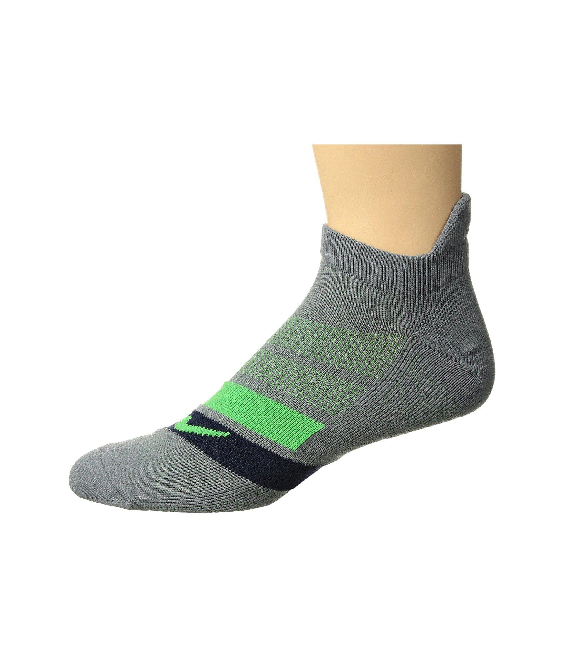 best cheap e4f83 a1c78 Lyst - Nike Dri-fit Cushion Dynamic Arch No-show Running Socks in ...