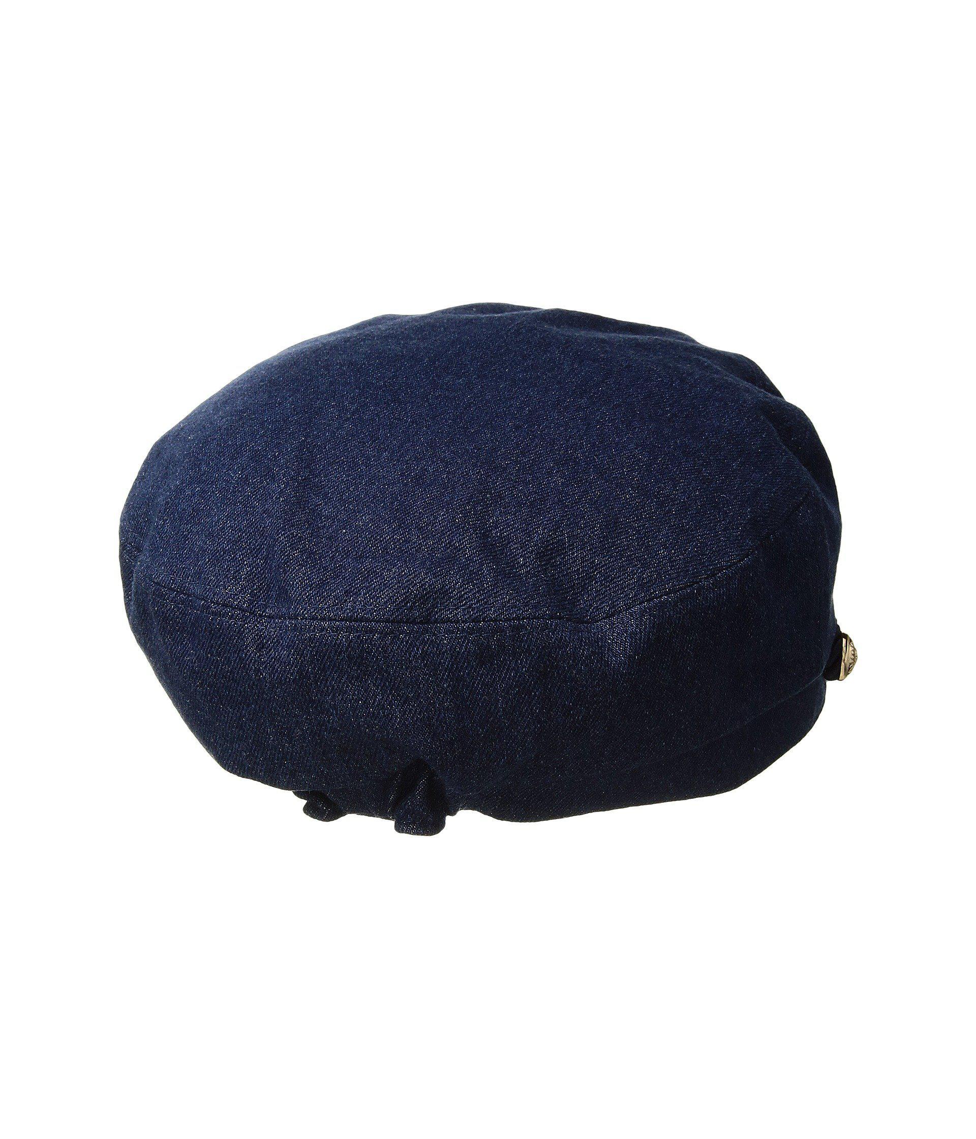 ddbb61a17bafc Hat Attack - Blue Summer Emmy Newsboy Cap (denim) Caps - Lyst. View  fullscreen