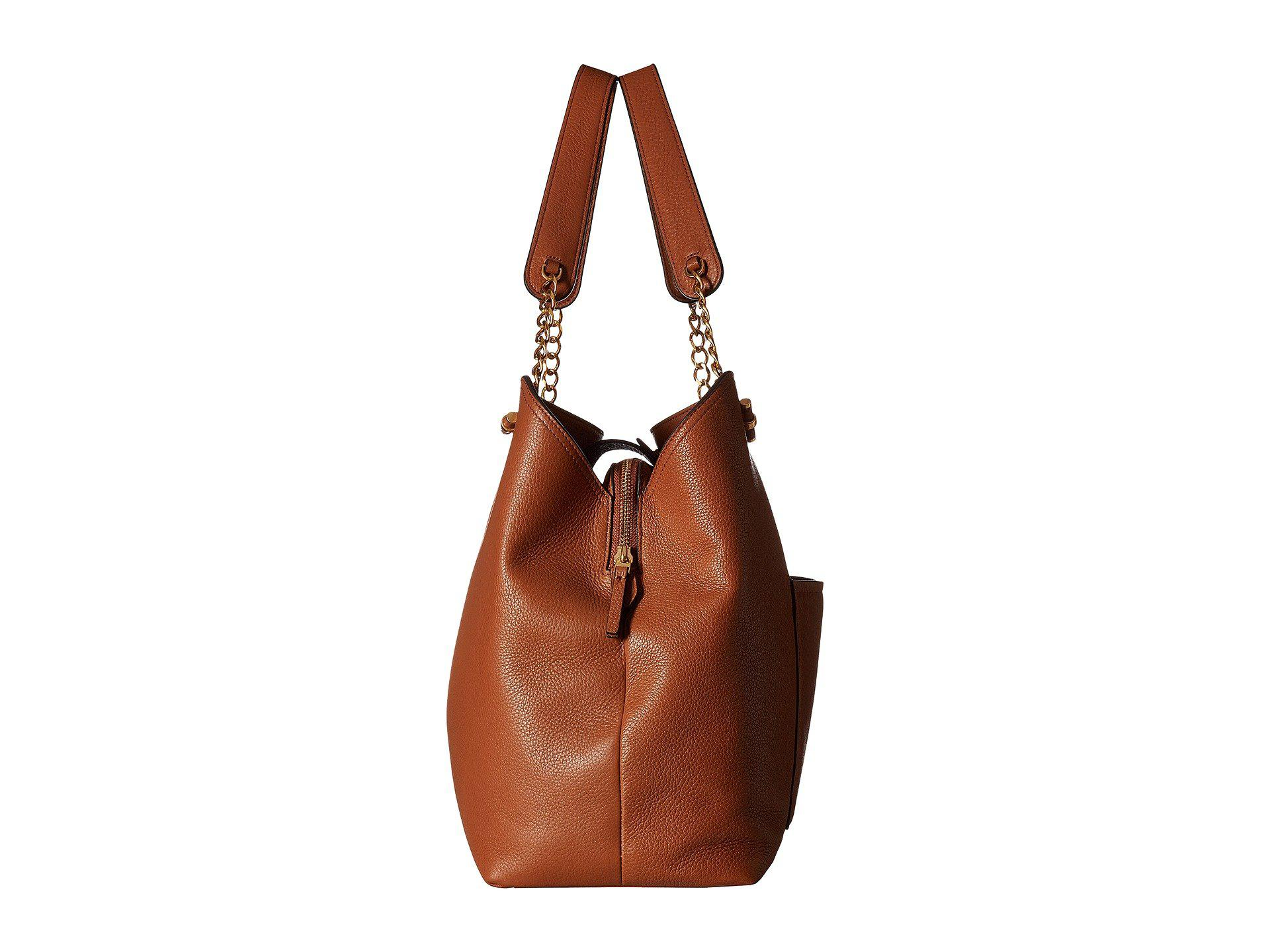 f02252914e7 Lyst - Tory Burch Chelsea Slouchy Tote (black) Tote Handbags in Brown