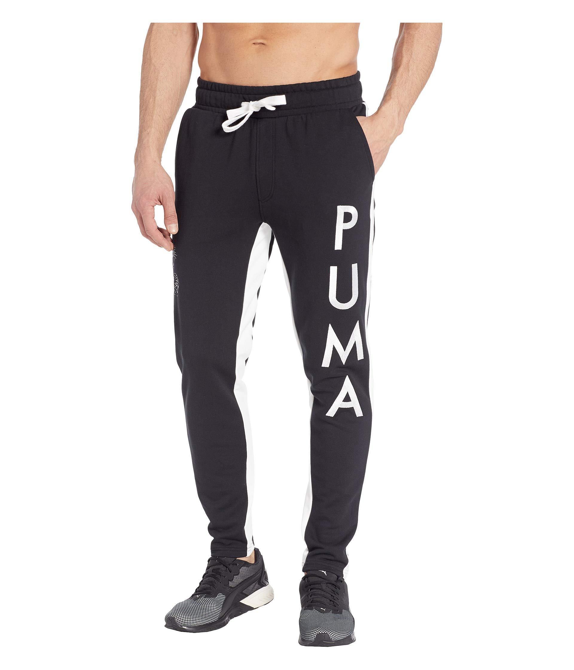 97ad0f8d0cb2 Lyst - PUMA Last Dayz Sweatpants (light Gray Heather  Black) Men s ...
