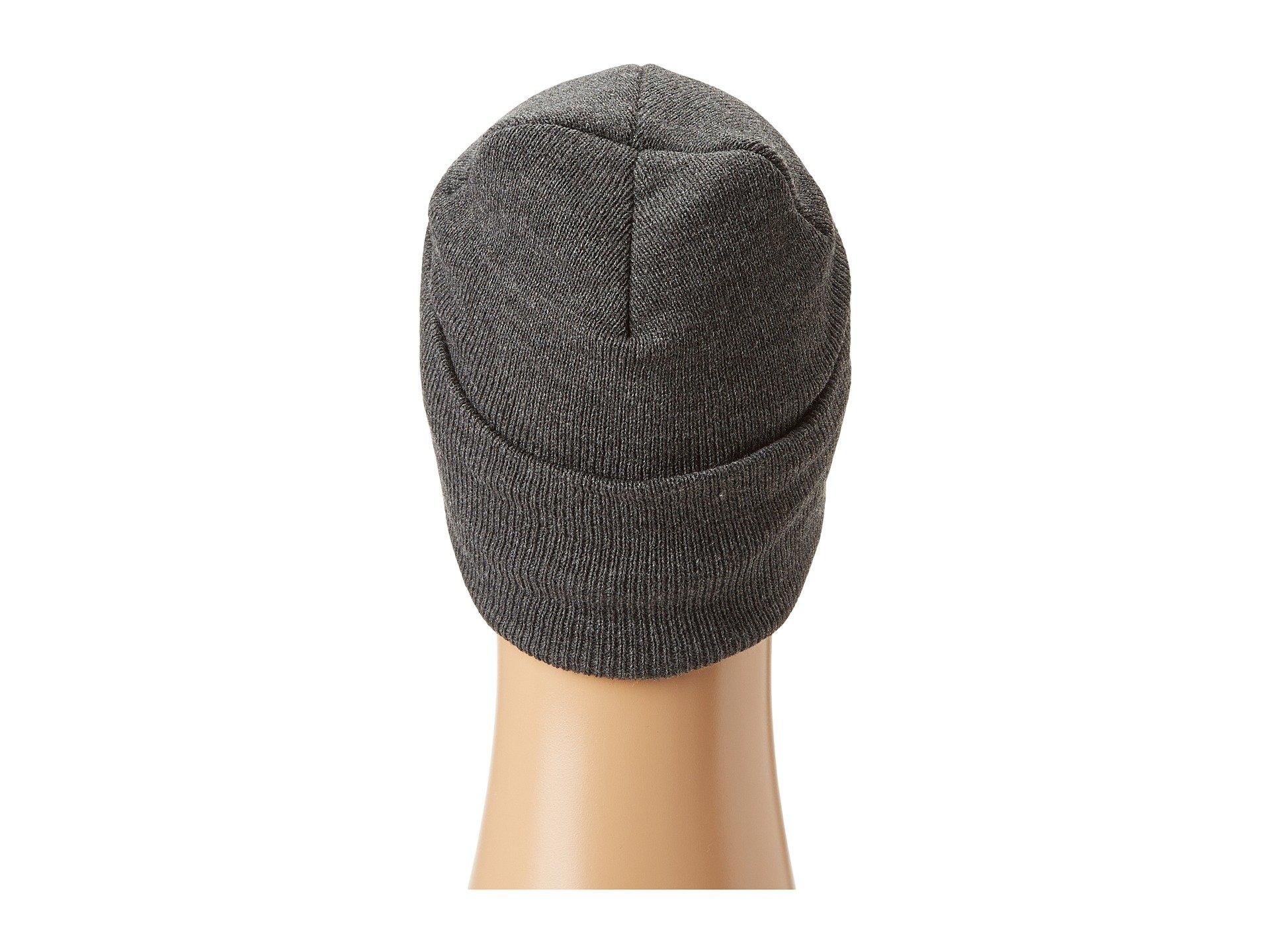 7ff622f82ee Lyst - Carhartt Acrylic Watch Hat (coal Heather) Beanies in Gray for Men