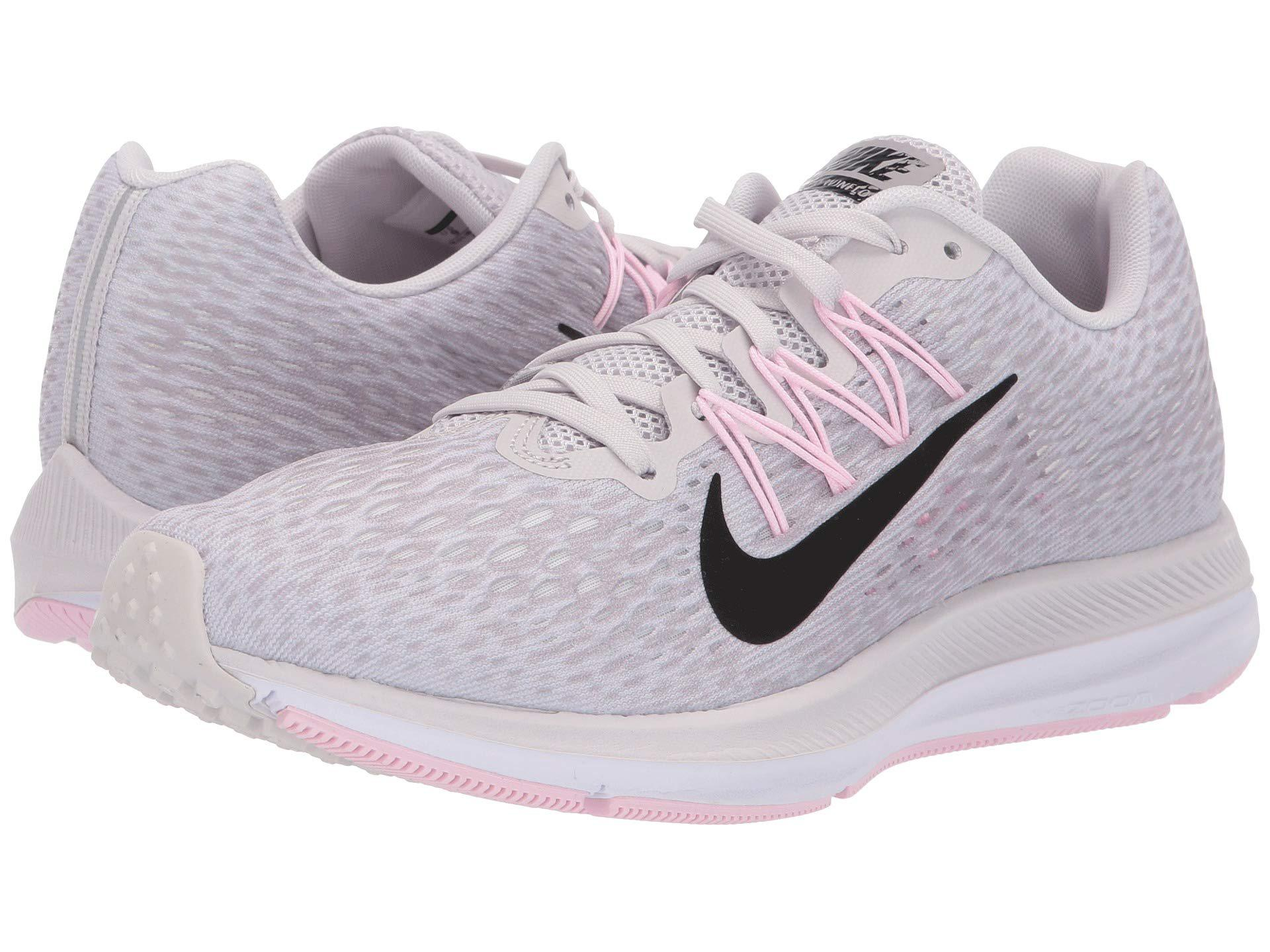 10fbb49c2e9 Nike. Gray Air Zoom Winflo 5 (vast Grey black atmosphere Grey) Women s  Running Shoes