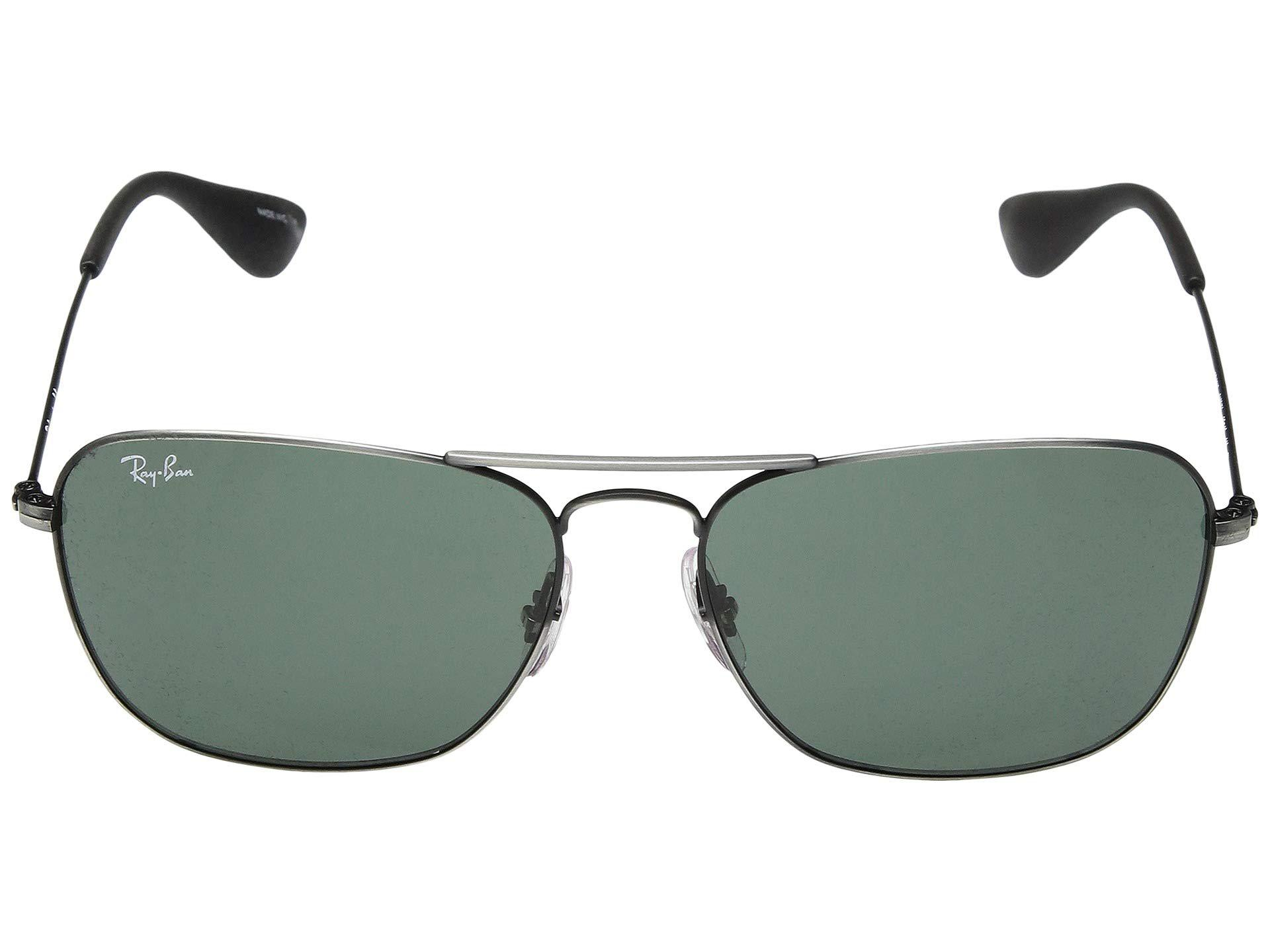 d28aefd71a Ray-Ban - Multicolor Rb3610 58 Mm. (matte Black Antique dark Green. View  fullscreen