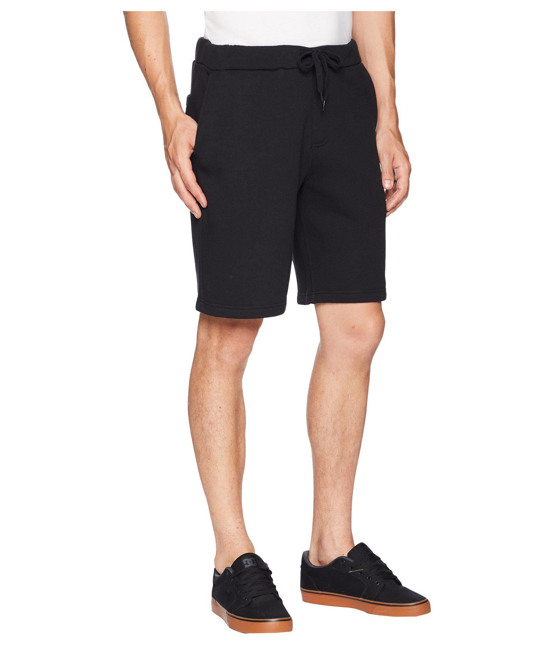 043d369f65 Lyst - Vans Blendline Fleece Shorts (black) Men s Shorts in Black ...