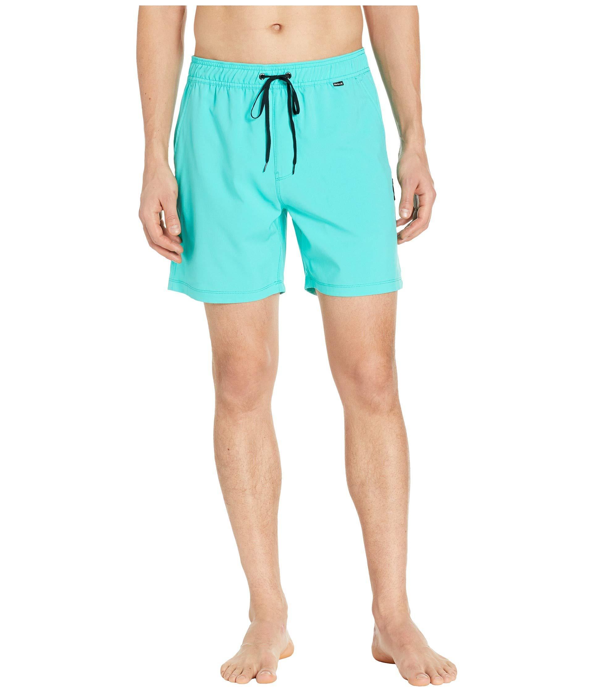 66487d334e Lyst - Hurley Oao Volley 17 (black) Men's Swimwear in Blue for Men