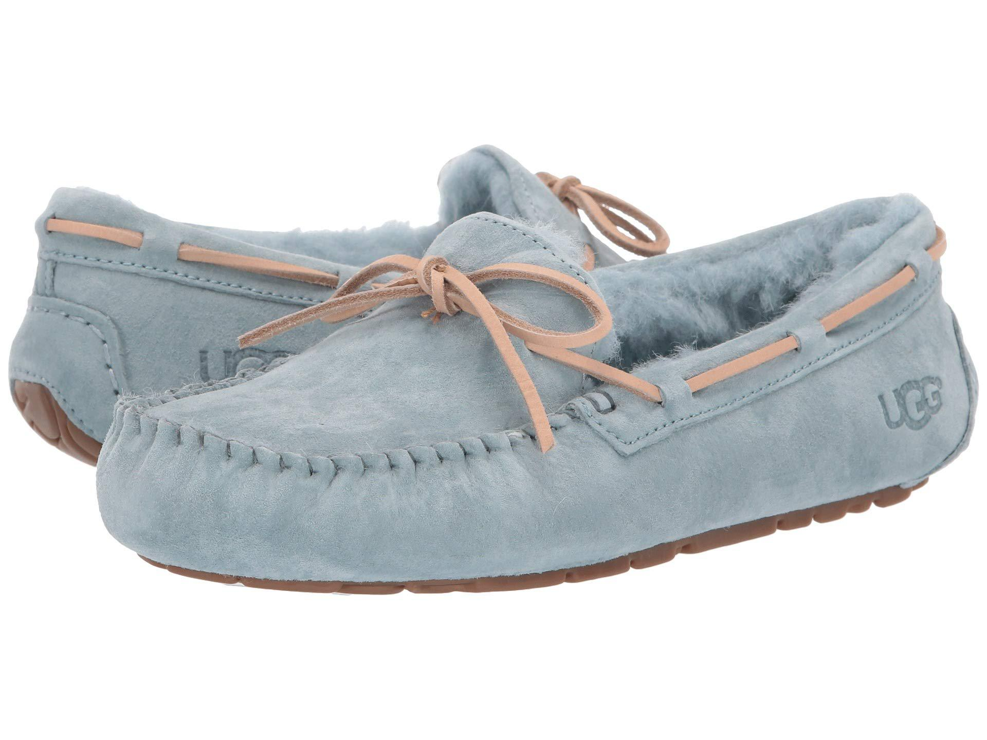 7ace3517e7a Blue Dakota (black Suede) Women's Moccasin Shoes