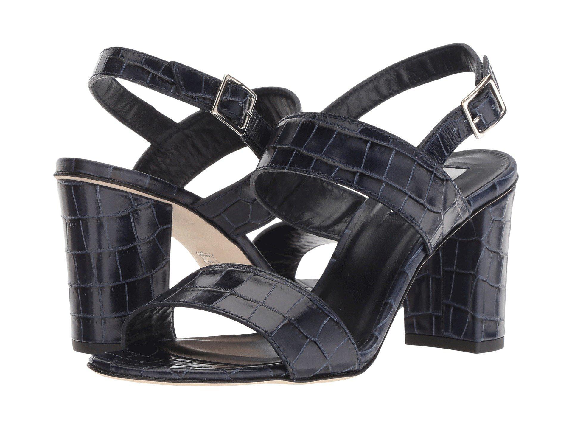 L.K. Bennett Rhiannon Croc Sandals Sale 2018 New NPnZZiv