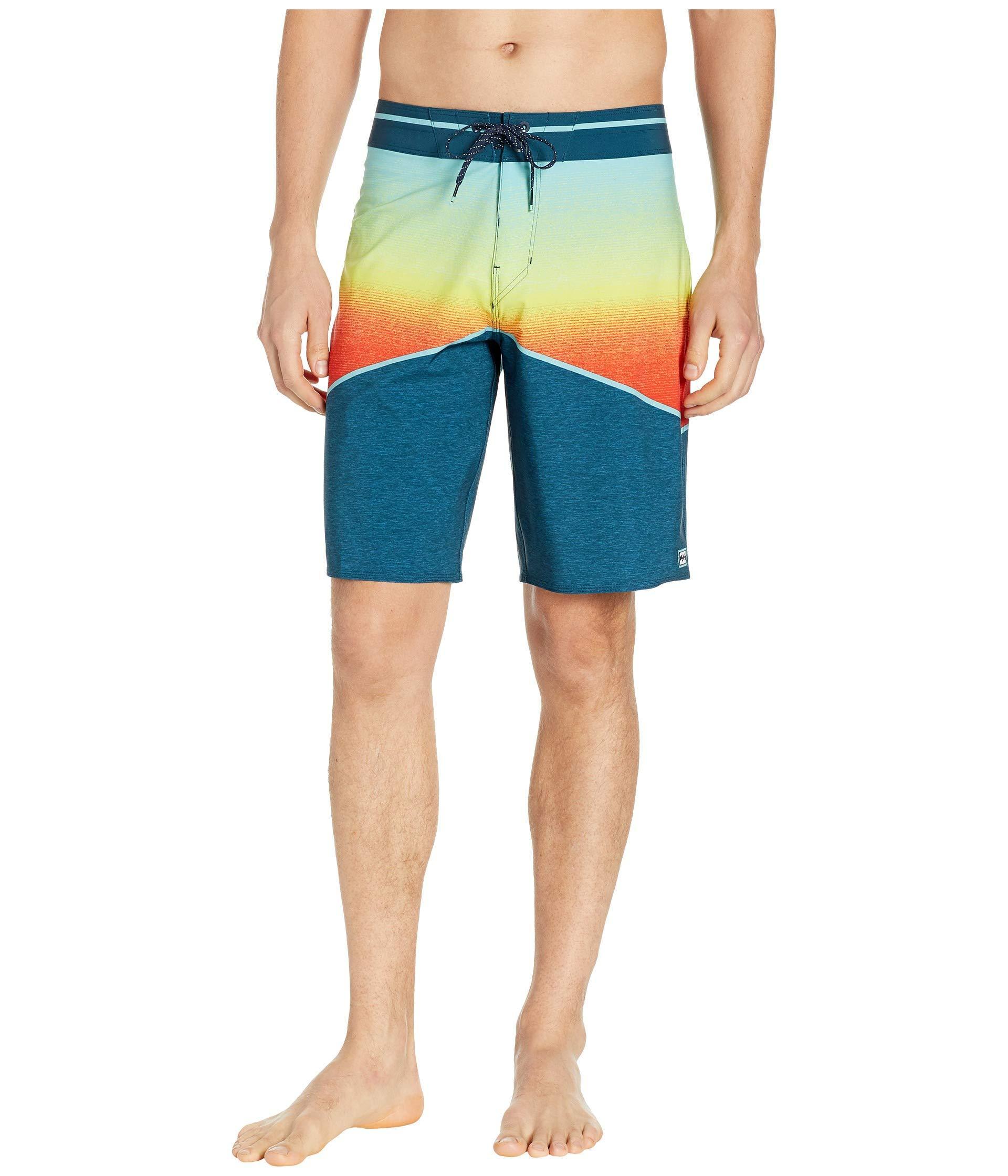 8f42f580488b7 Lyst - Billabong North Point Pro (black) Men's Swimwear in Orange ...